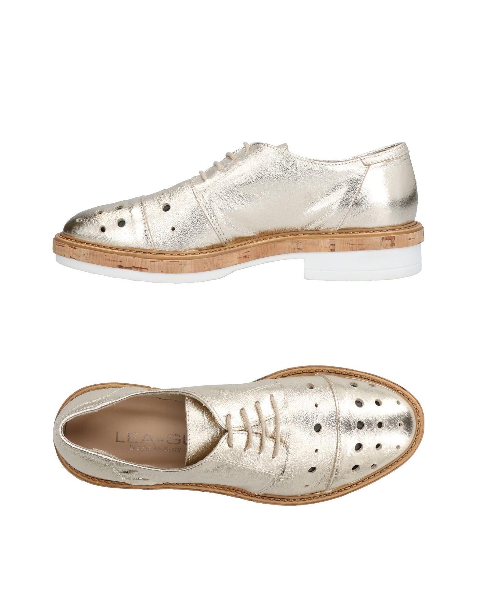 Recortes de precios estacionales, beneficios Lea-Gu de descuento Zapato De Cordones Lea-Gu beneficios Mujer - Zapatos De Cordones Lea-Gu  Platino 490ee7