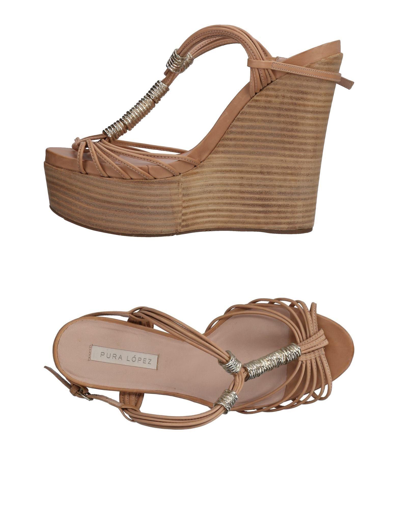 Stilvolle billige Sandalen Schuhe Pura López Sandalen billige Damen  11472524GF c66de0