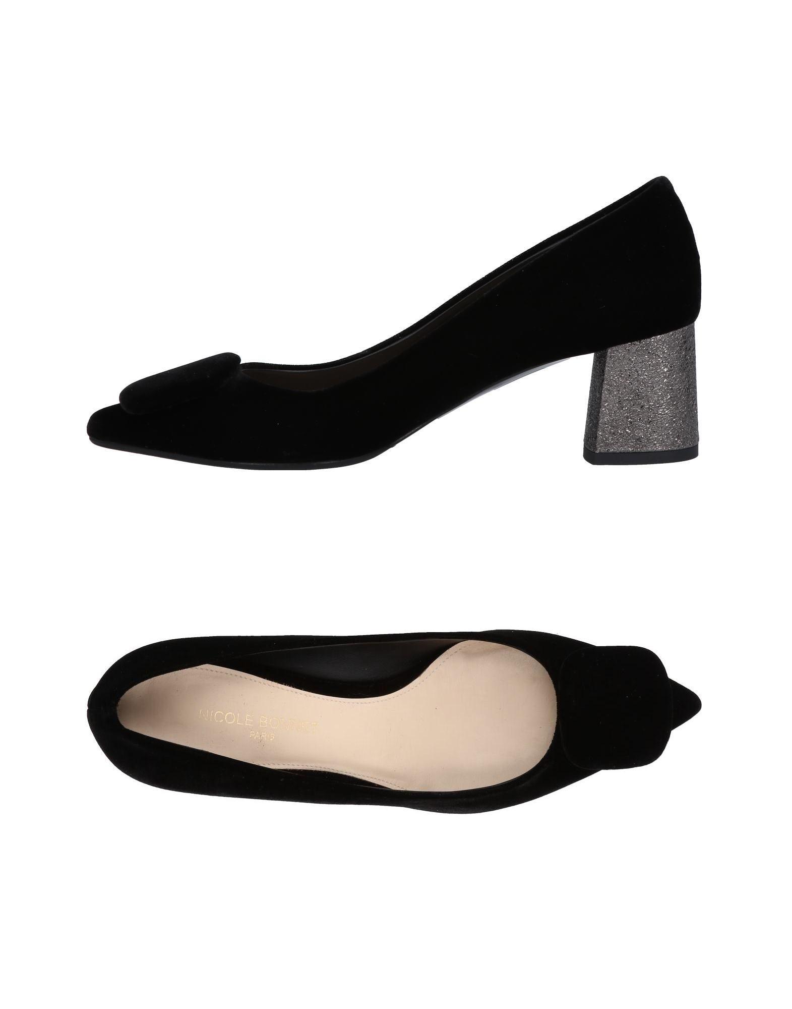 Stilvolle billige Schuhe Nicole Bonnet Paris Pumps Damen  11473343HE