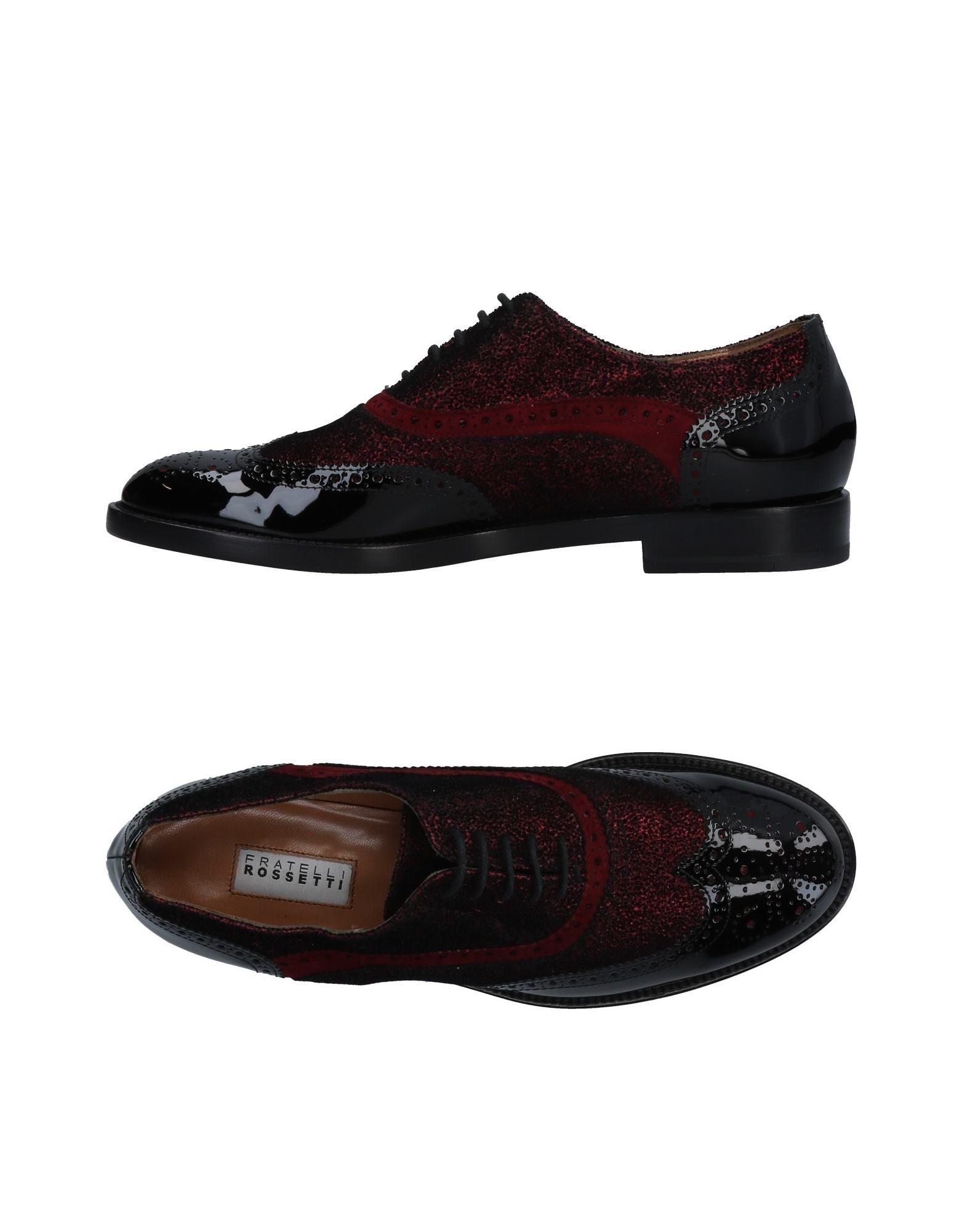 Fratelli Rossetti Schnürschuhe Damen  11473606QFGut aussehende strapazierfähige Schuhe