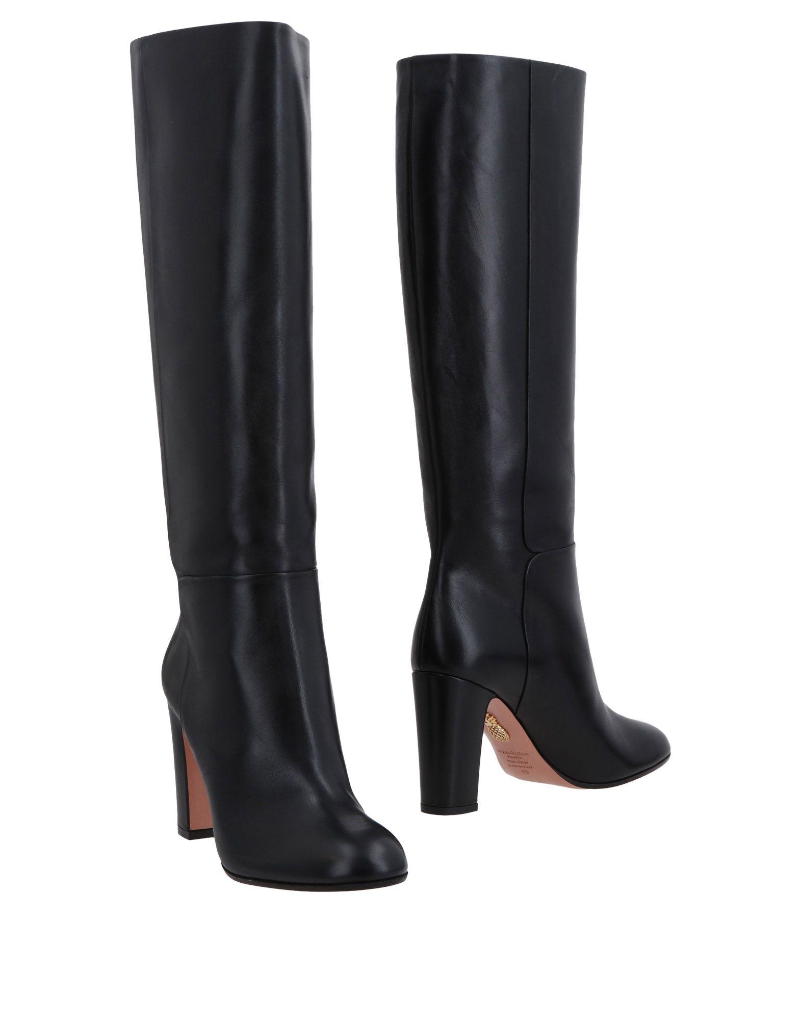 Aquazzura Stiefel aussehende Damen  11473609UVGünstige gut aussehende Stiefel Schuhe f7995c