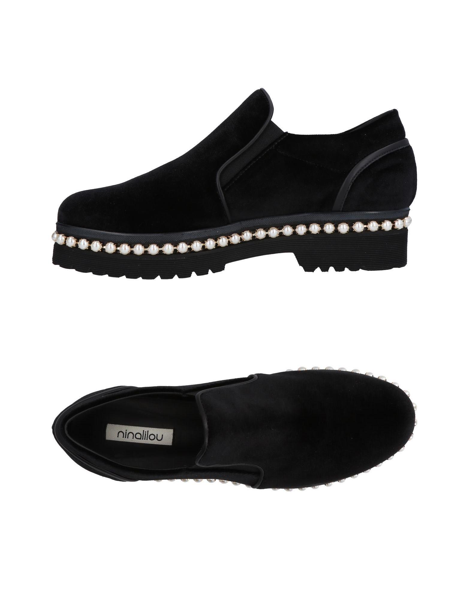 Stilvolle billige Schuhe Ninalilou Mokassins Damen  11473983XV