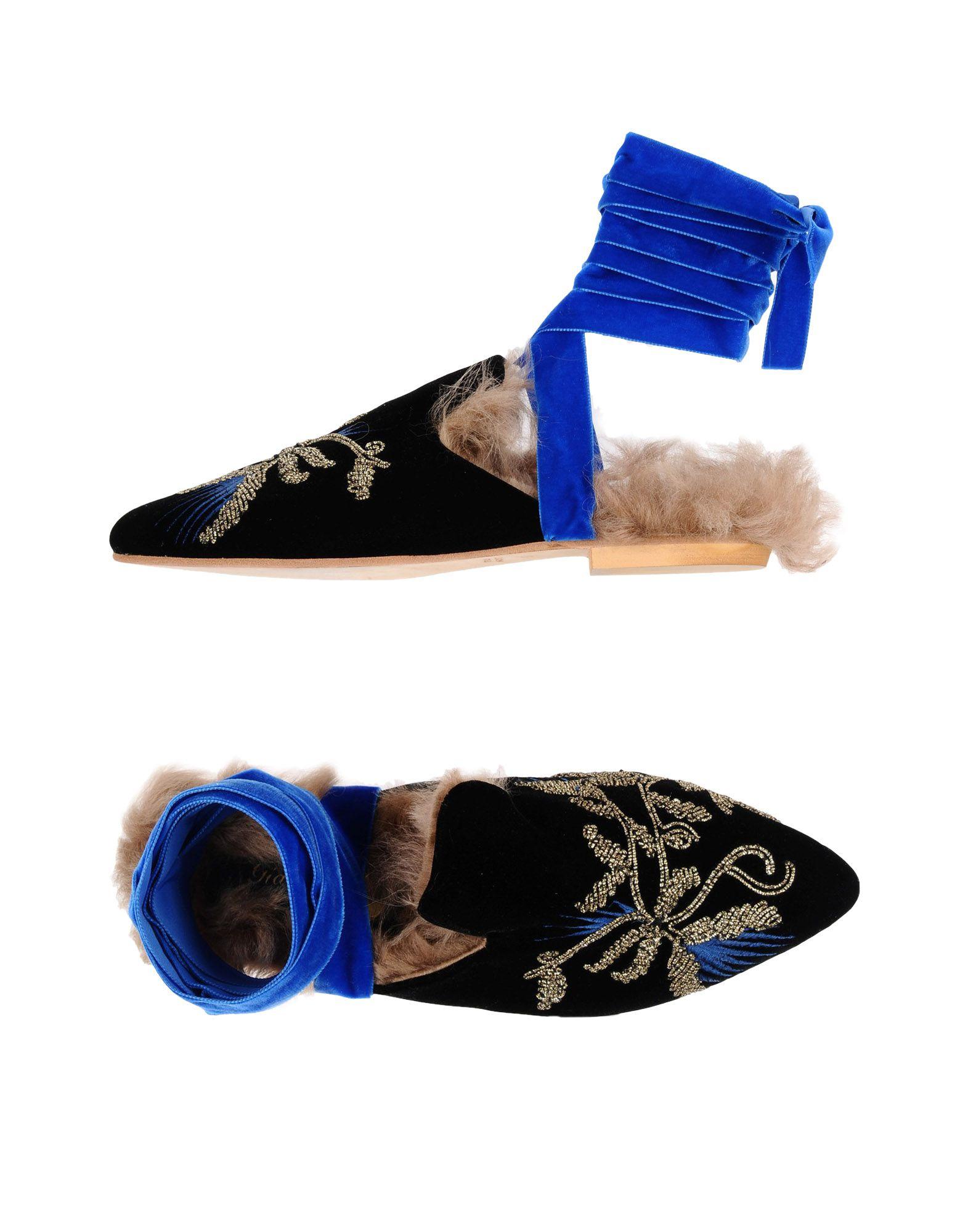 Stilvolle billige Schuhe Gia Couture Pantoletten Damen  11474005FL