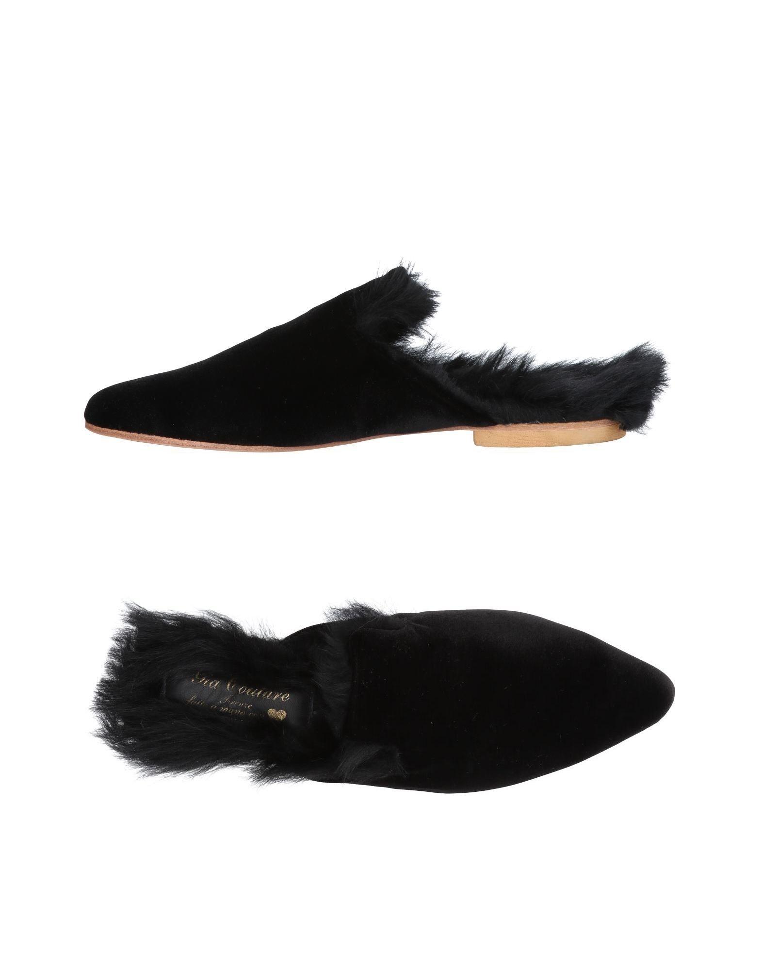 Gia  Couture Pantoletten Damen  Gia 11474031IVGut aussehende strapazierfähige Schuhe 097bc2