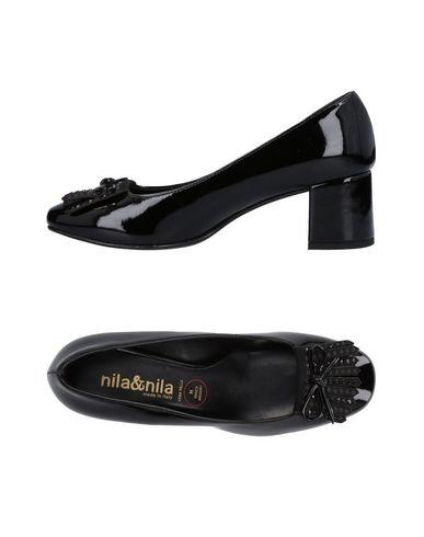 Zapatos casuales salvajes salvajes salvajes Mocasín Nila & Nila Mujer - Mocasines Nila & Nila - 11474115WG Negro 604410