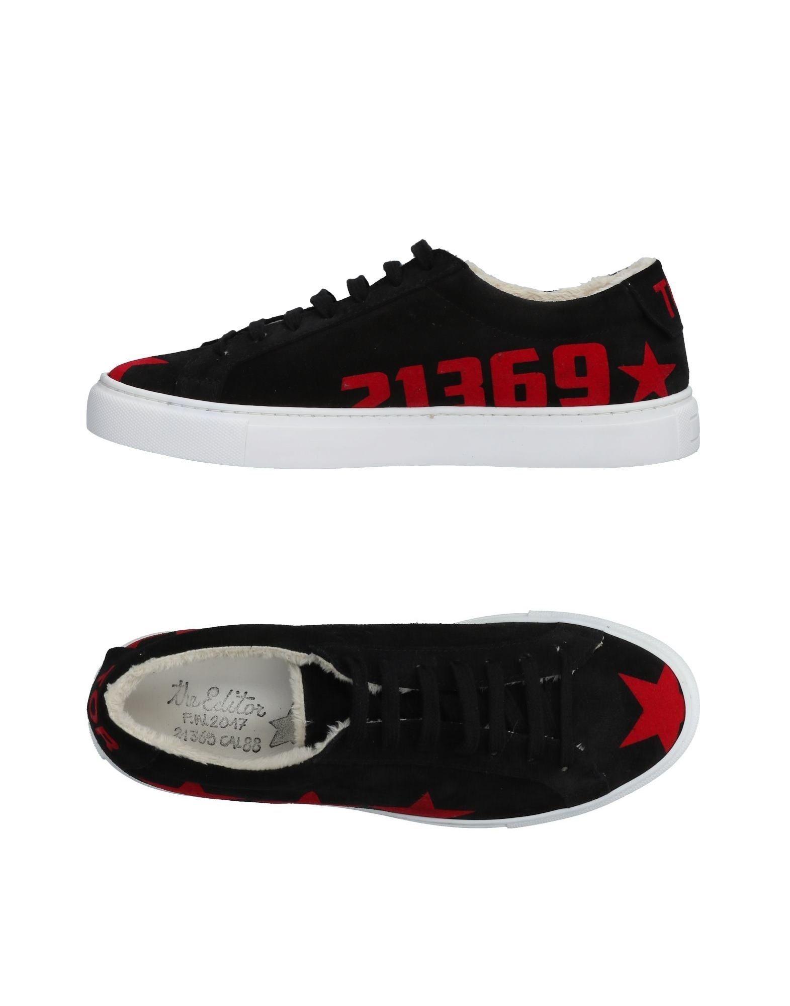 Rabatt echte Schuhe The Editor Sneakers Herren  11474148SS