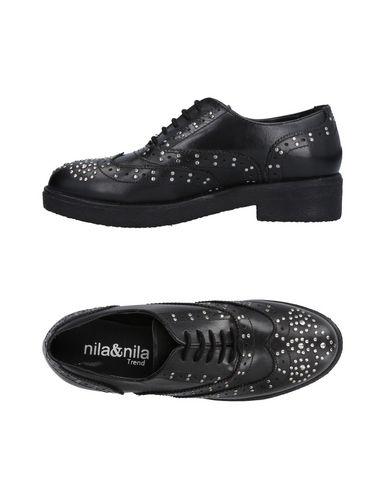 Recortes de precios estacionales, beneficios de descuento Zapato De Cordones Nila & Nila Mujer - Zapatos De Cordones Nila & Nila   - 11474229KC Negro