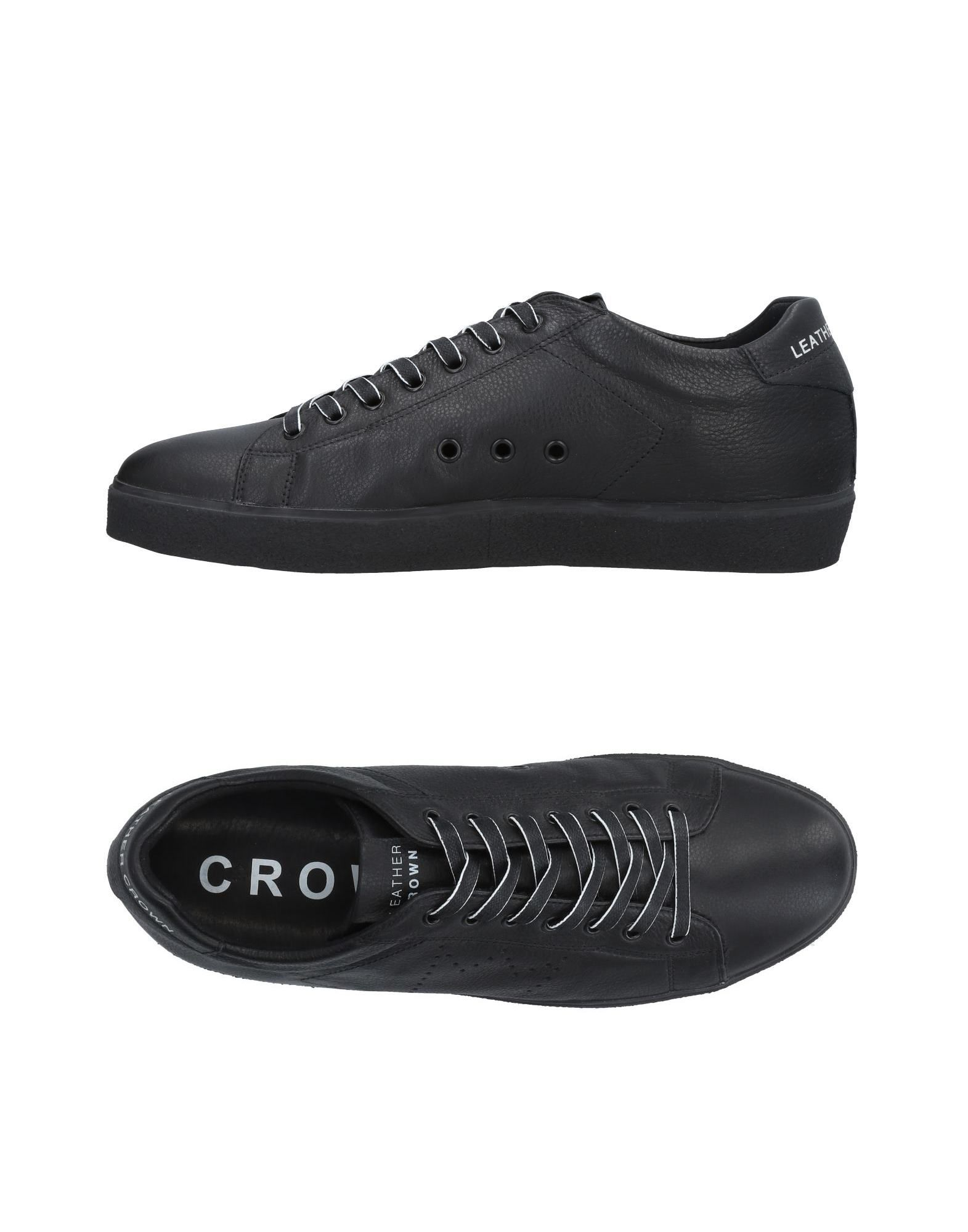 Sneakers Leather Crown Uomo - 11474768EL