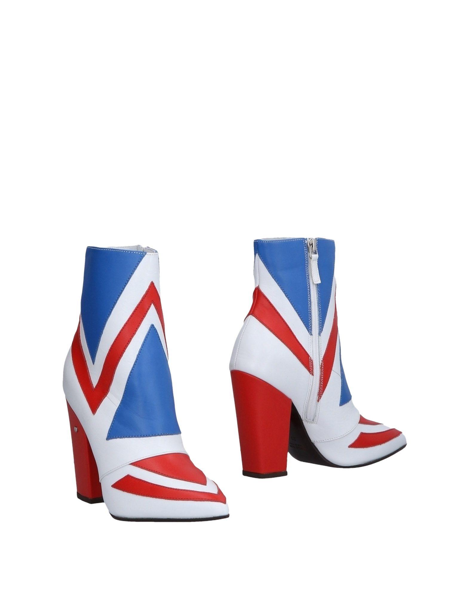 Bottine Laurence Dacade Femme - Bottines Laurence Dacade Rouge Chaussures femme pas cher homme et femme