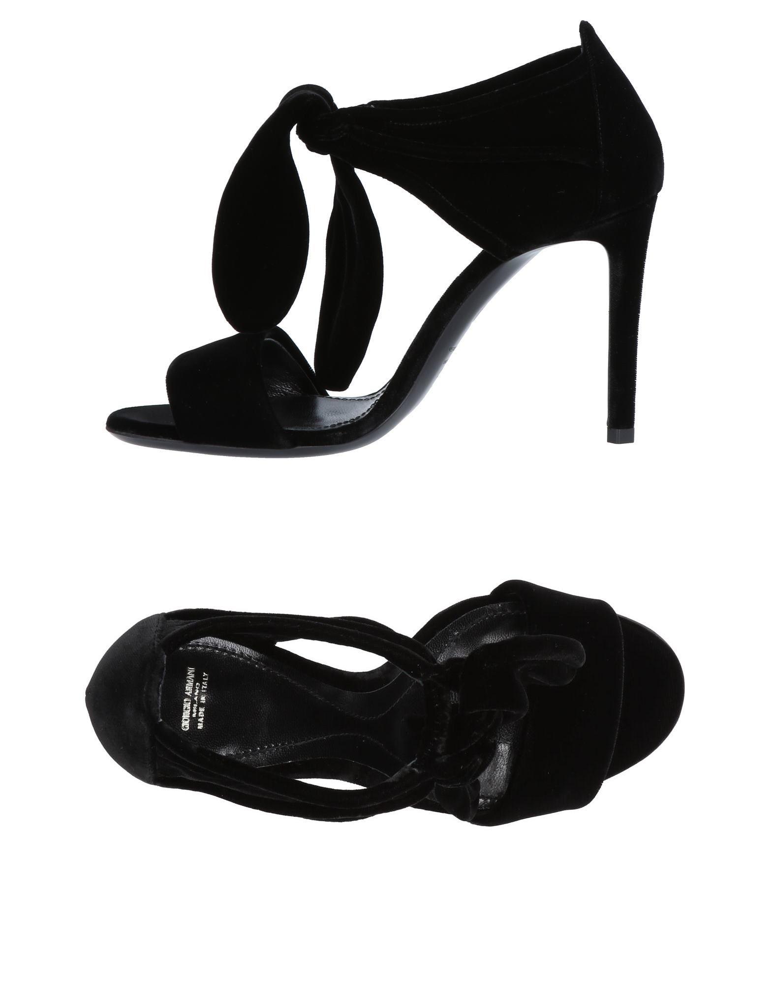 Giorgio Armani Sandalen aussehende Damen  11475001VDGünstige gut aussehende Sandalen Schuhe d9eed4