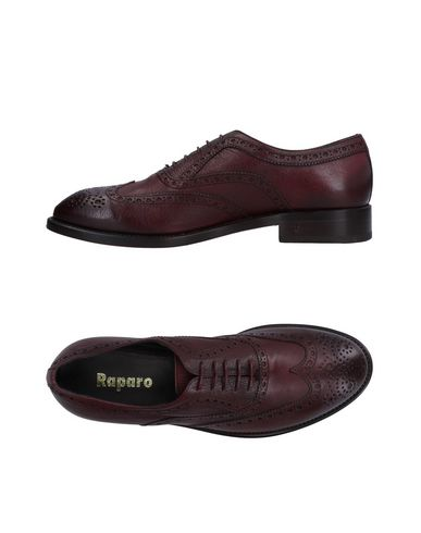 RAPARO Laced Shoes in Maroon