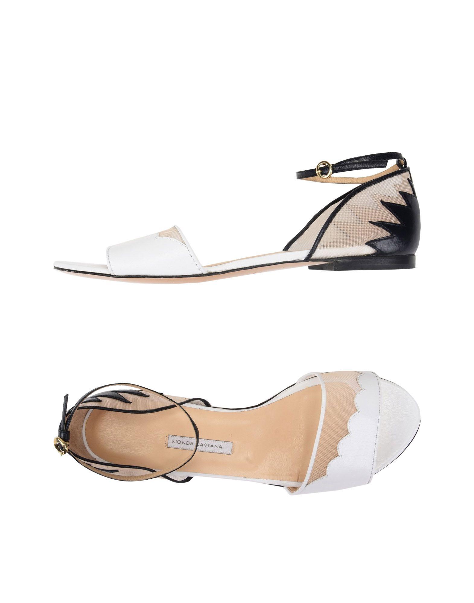 Rabatt Schuhe Bionda Castana Sandalen Damen  11475580GA