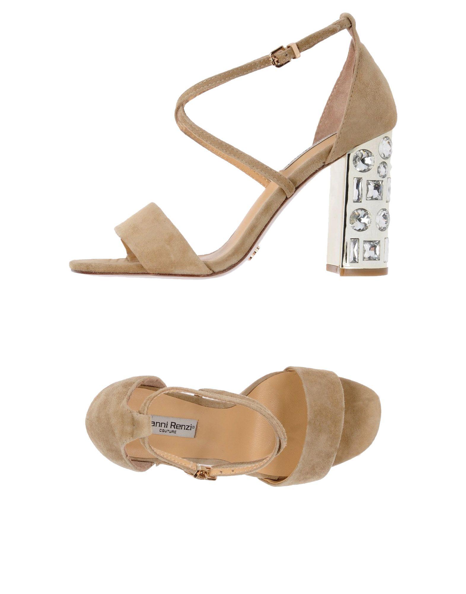 Gut um billige Schuhe zu tragenGianni Renzi®  Couture Sandalen Damen  11475665PE