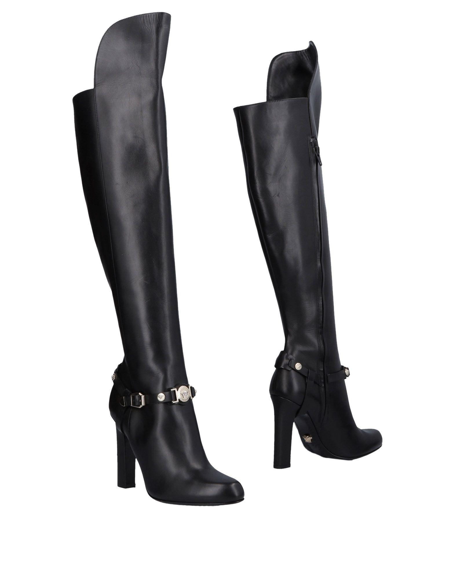 Versace Stiefel aussehende Damen  11475725TMGünstige gut aussehende Stiefel Schuhe a95a8d
