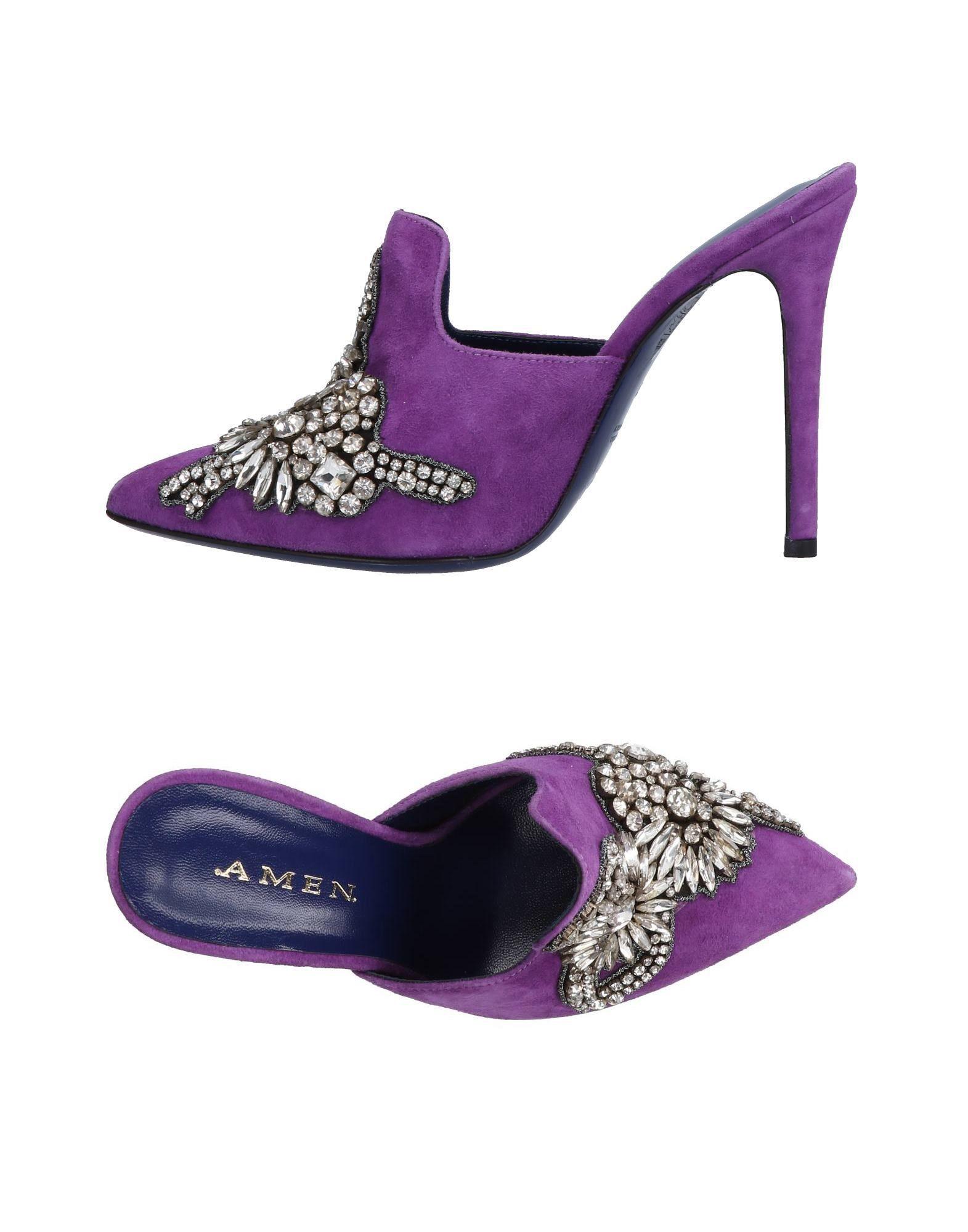 .Amen. Pantoletten Damen  aussehende 11476053QRGünstige gut aussehende  Schuhe da8df0