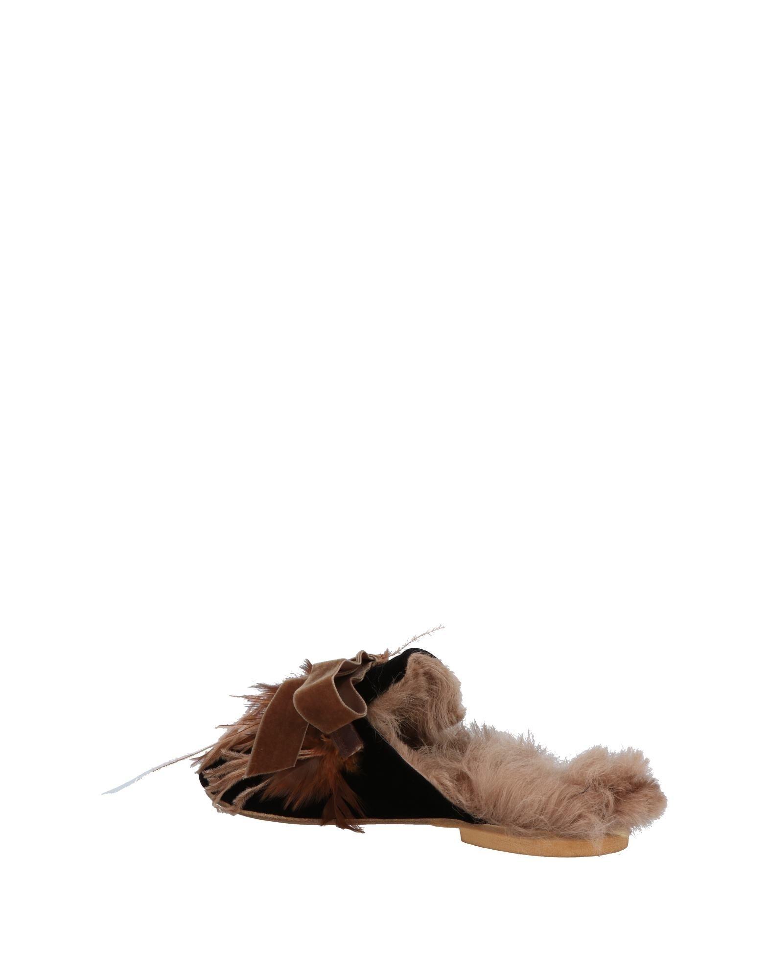Stilvolle billige Schuhe Gia Couture Pantoletten Damen  11476274TE
