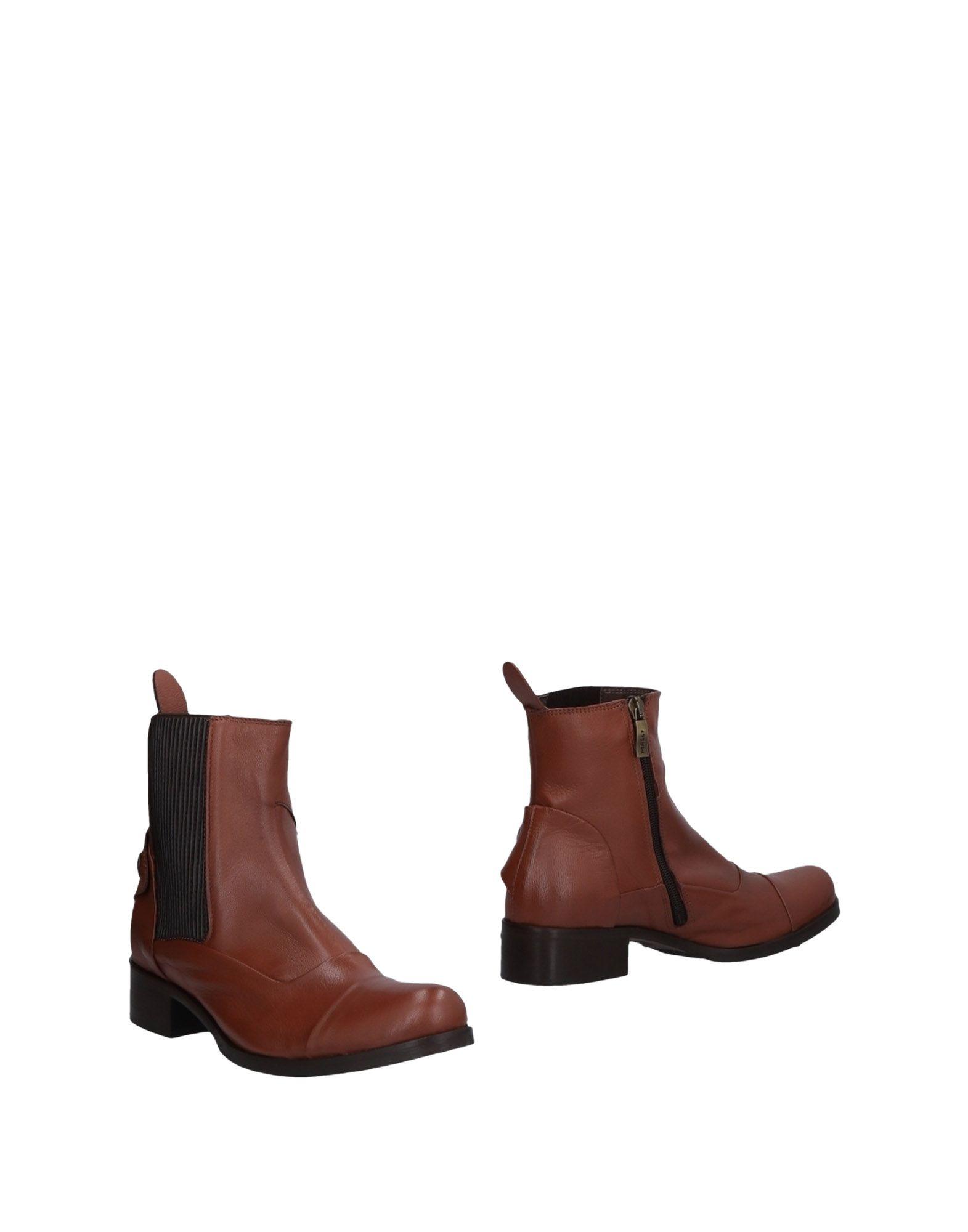 Bottillons Mally Femme - Bottillons Mally Marron Dernières chaussures discount pour hommes et femmes