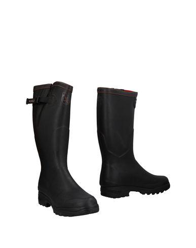 Zapatos de hombres y Botín mujeres de moda casual Botín y Aigle Hombre - Botines Aigle - 11476512KG Negro 027117