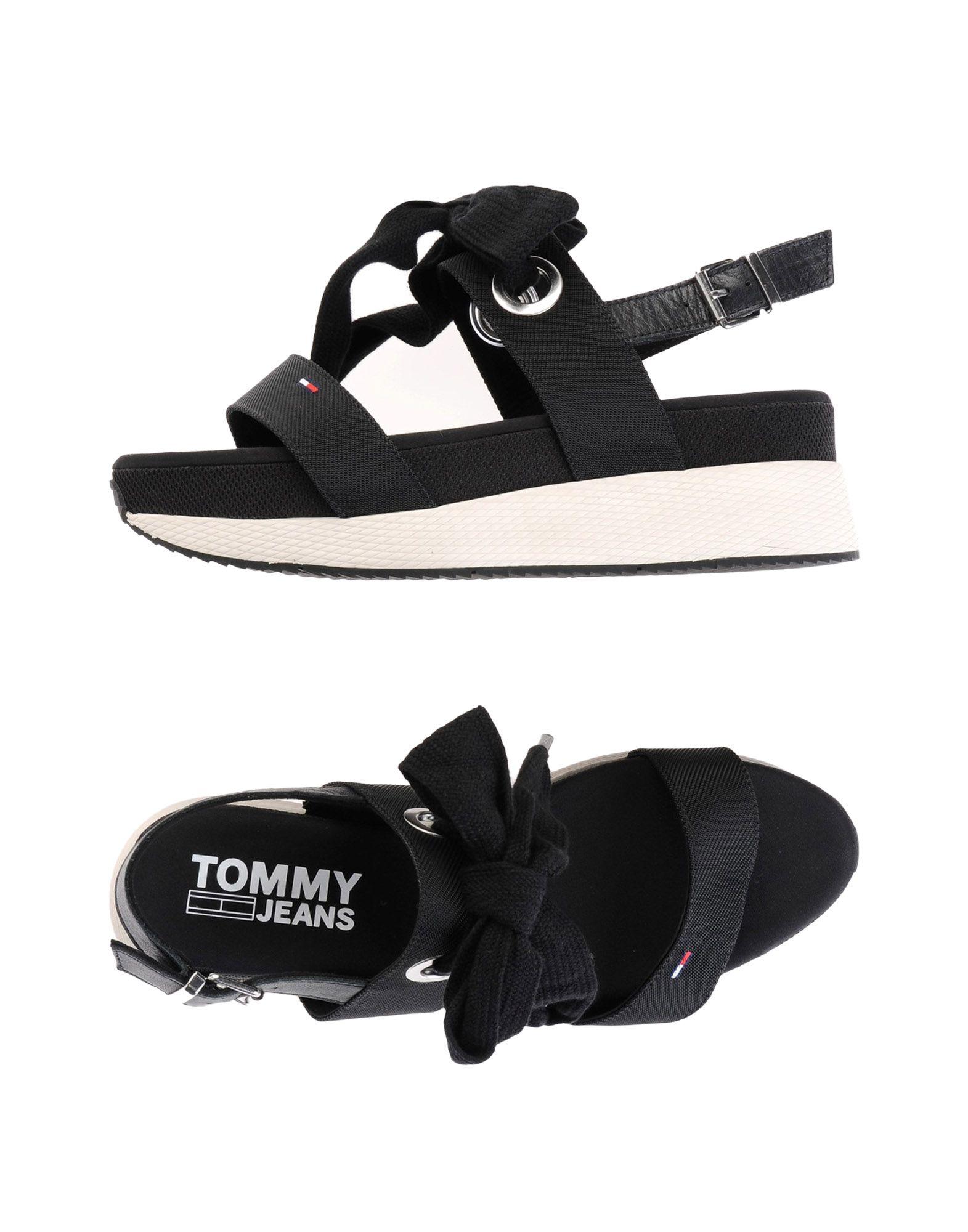 Sandales Tommy Jeans Modern Hybrid Sandal Bow - Femme - Sandales Tommy Jeans sur