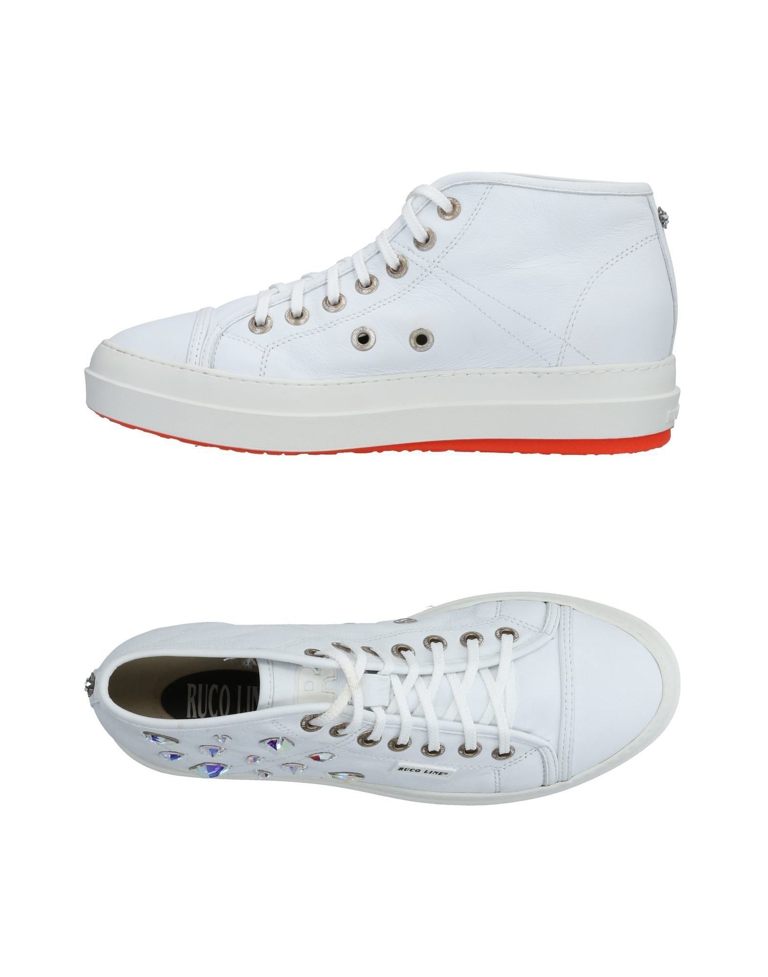Baskets Ruco Line Femme - Baskets Ruco Line Blanc Chaussures casual sauvages