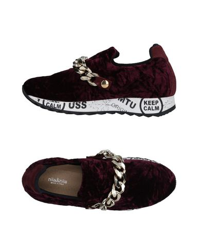 Zapatillas Nila Zapatillas & Nila Mujer - Zapatillas Nila Nila & Nila - 11476848WG Burdeos Nuevos zapatos para hombres y mujeres, descuento por tiempo limitado 5f3f11