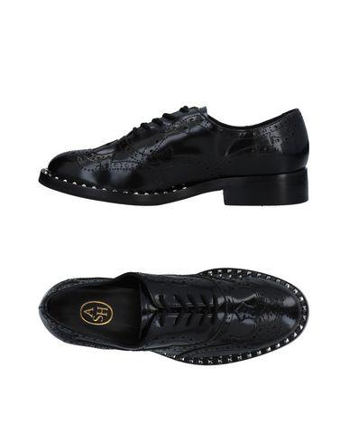 Zapato De Zapatos Cordones Ash Mujer - Zapatos De De Cordones Ash - 11477096VU Negro fb5804