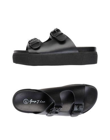 Zapatos casuales Love salvajes Sandalia George J. Love casuales Mujer - Sandalias George J. Love - 11477193NC Negro eb27d4