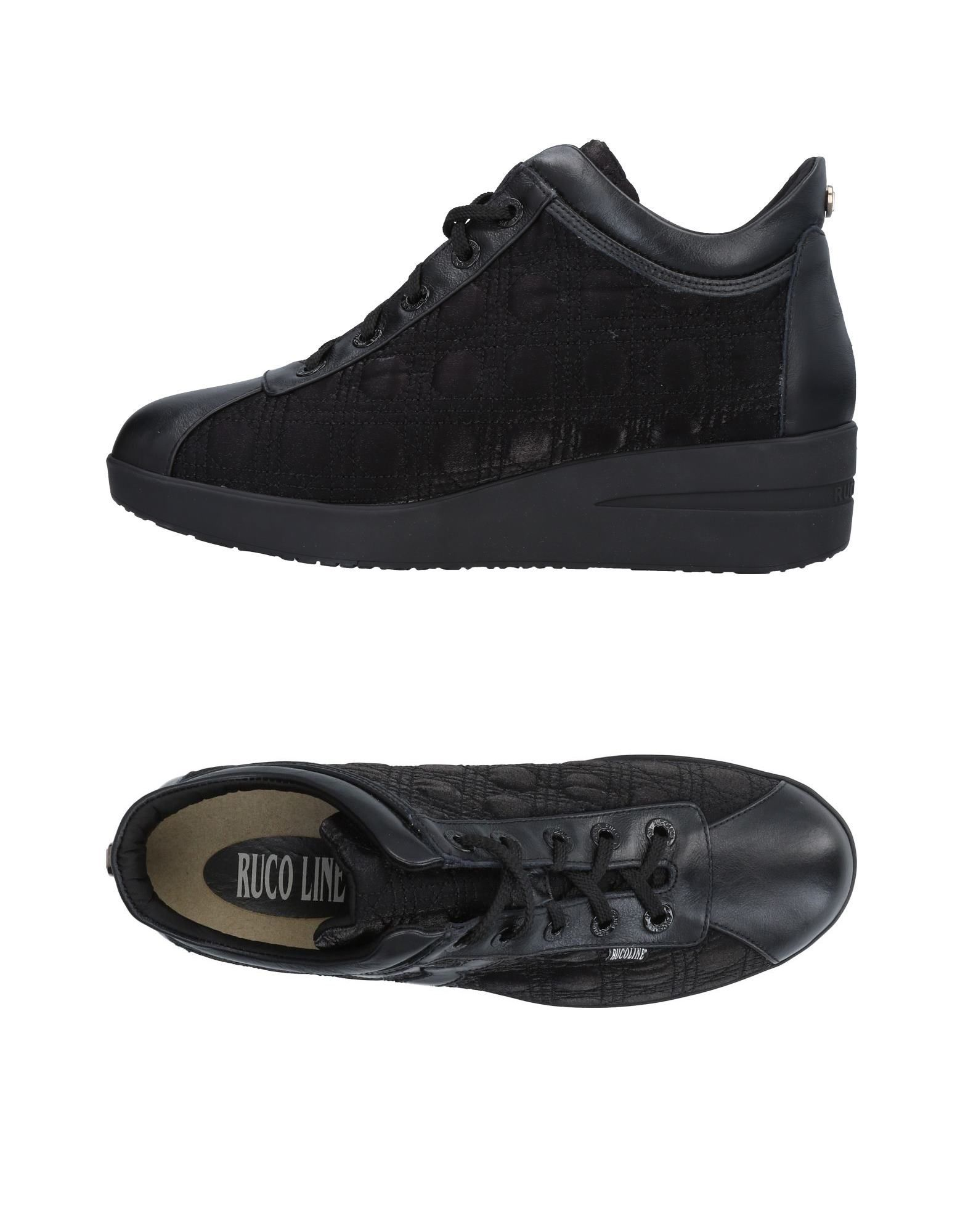 Baskets Ruco Ruco Line Femme - Baskets Ruco Ruco Line Noir Chaussures casual sauvages 496bee