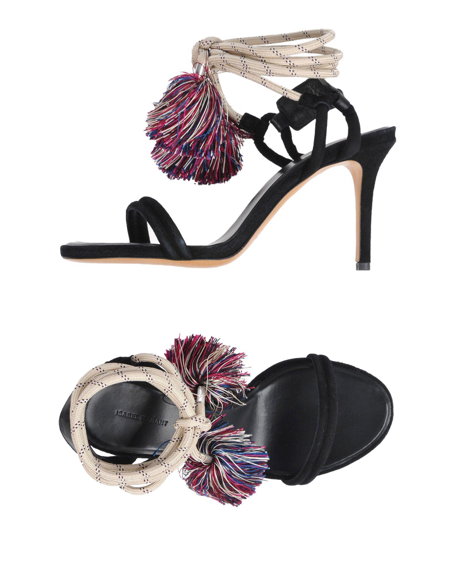 Zapatos casuales salvajes Sandalia Isabel Isabel Sandalia Marant Mujer - Sandalias Isabel Marant  Negro cff352