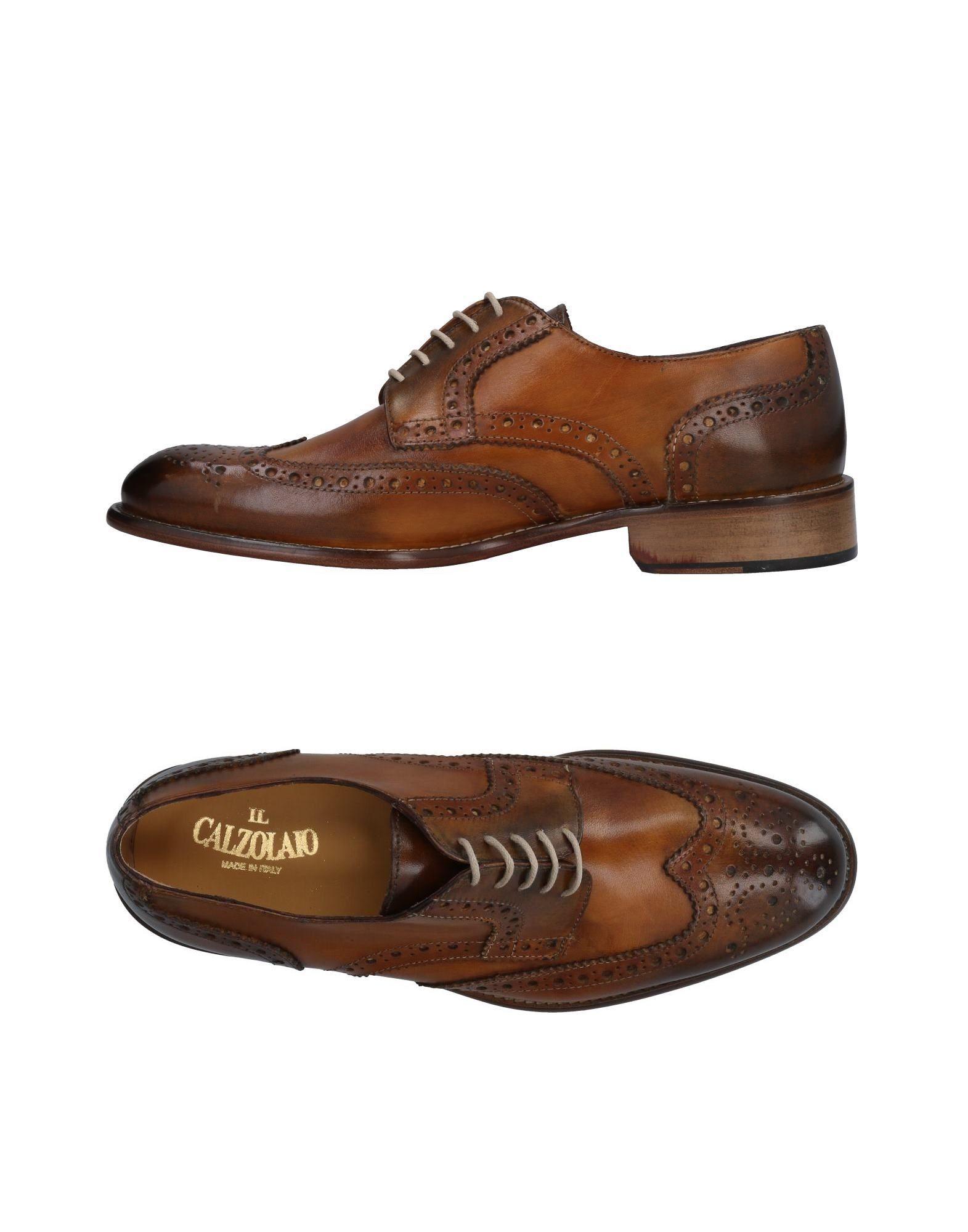 Rabatt echte Schuhe Il Calzolaio Schnürschuhe Herren  11477539UJ