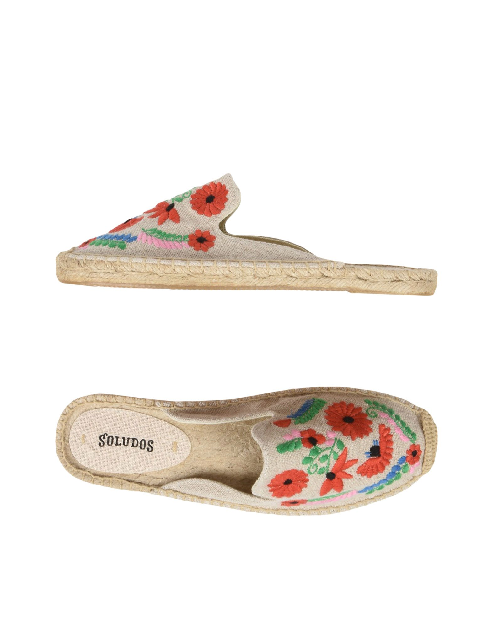 Mule Soludos Ibiza Embroidered Mule - Donna - 11477847TA