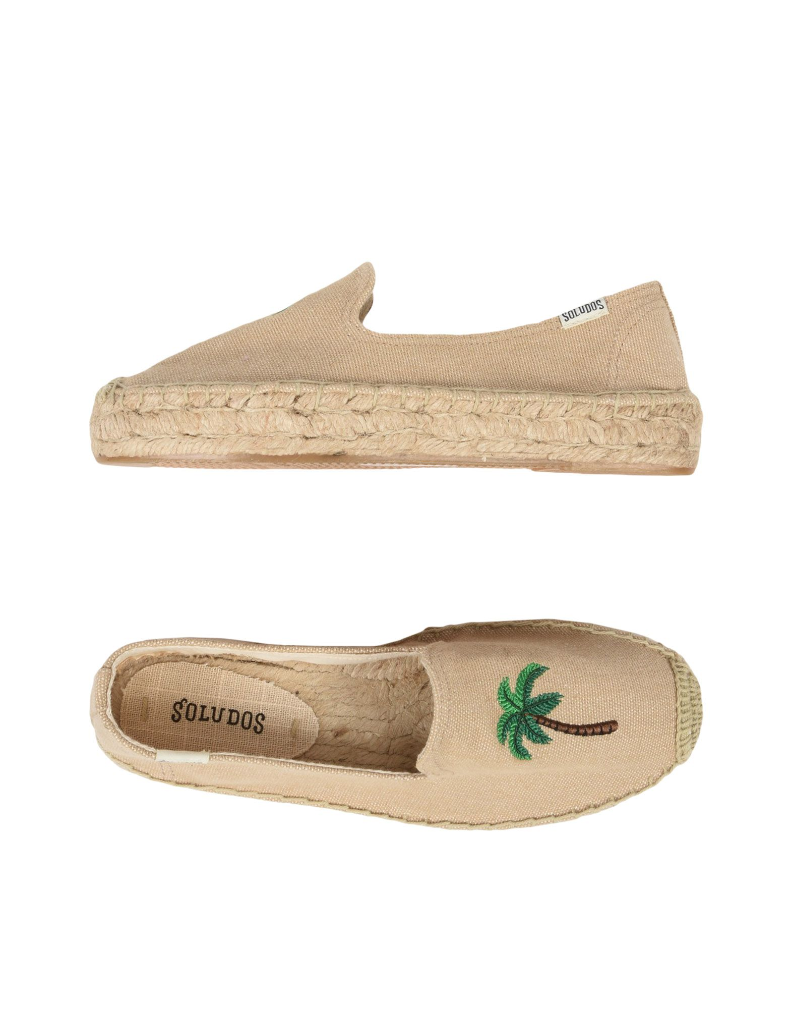 Espadrillas Soludos Palm Tree Smocking Slipper - Donna - 11477854II