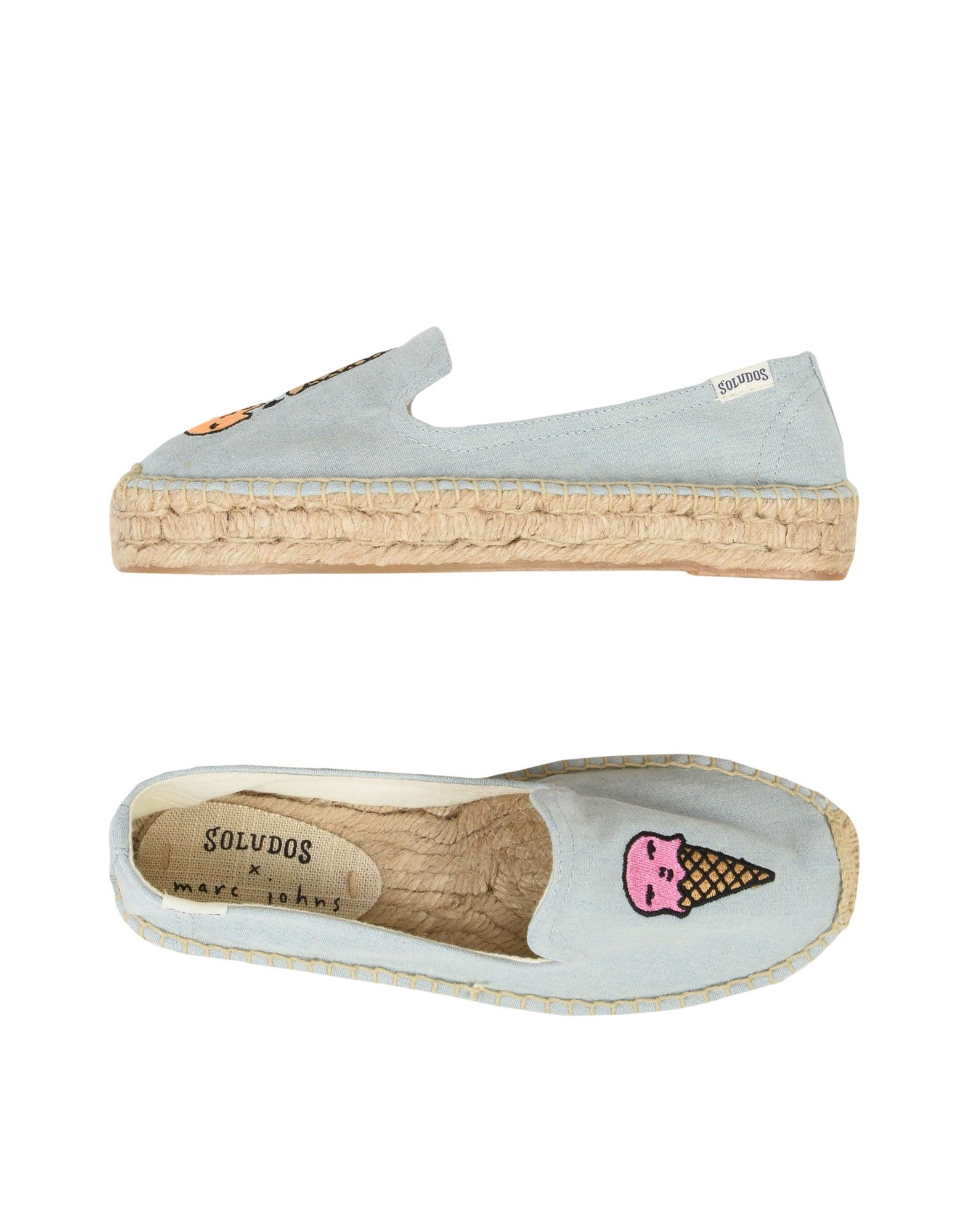Espadrillas Soludos Ice Cream Smocking Slipper - Donna - 11477856OT