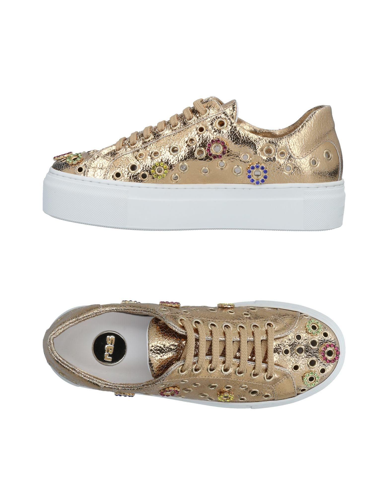 Stilvolle billige Schuhe Ras Sneakers Damen  11478223GH