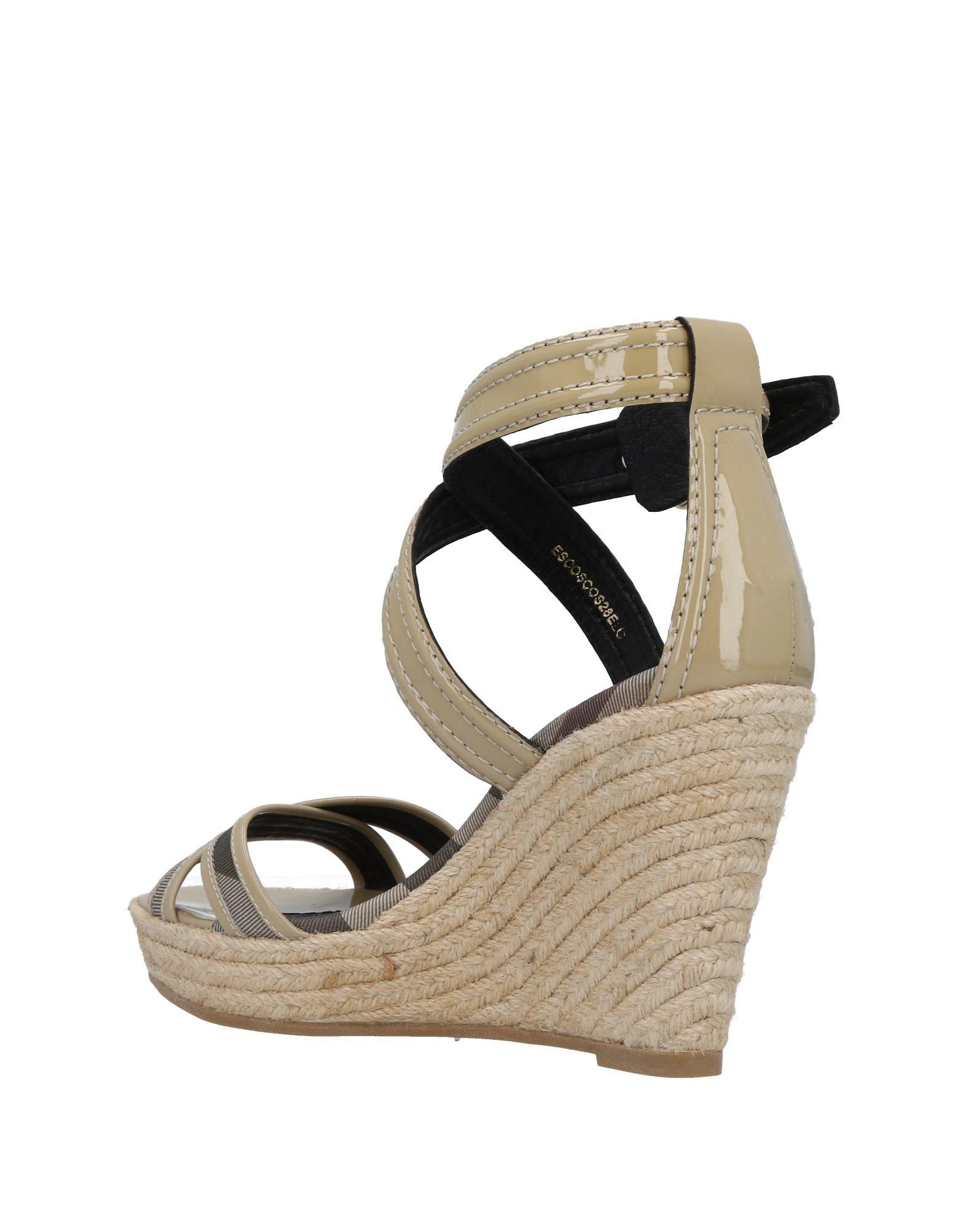 Burberry Sandalen Damen aussehende  11478309AIGut aussehende Damen strapazierfähige Schuhe 537514