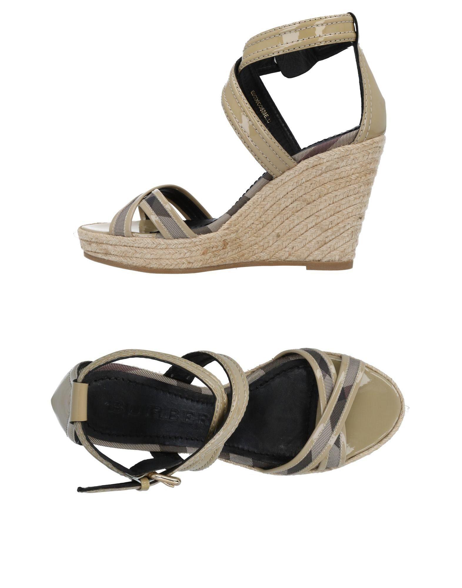 Burberry Sandalen Damen  11478309AIGut aussehende strapazierfähige Schuhe