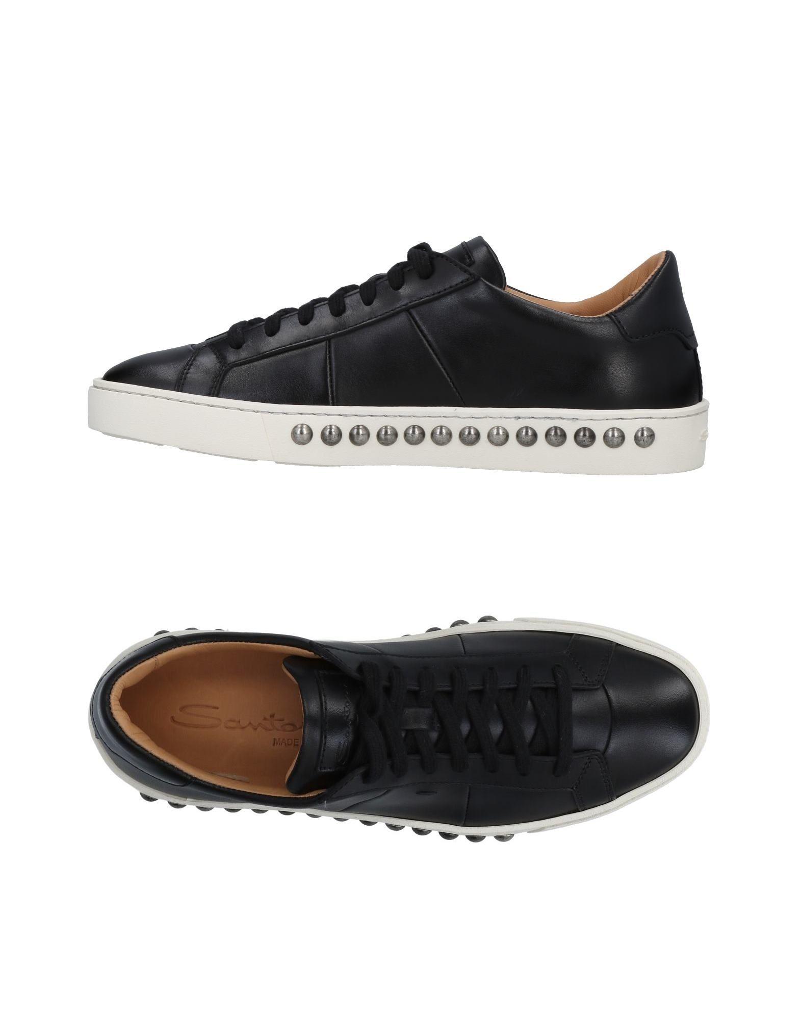 Rabatt Schuhe Santoni Sneakers Damen  11478340AS