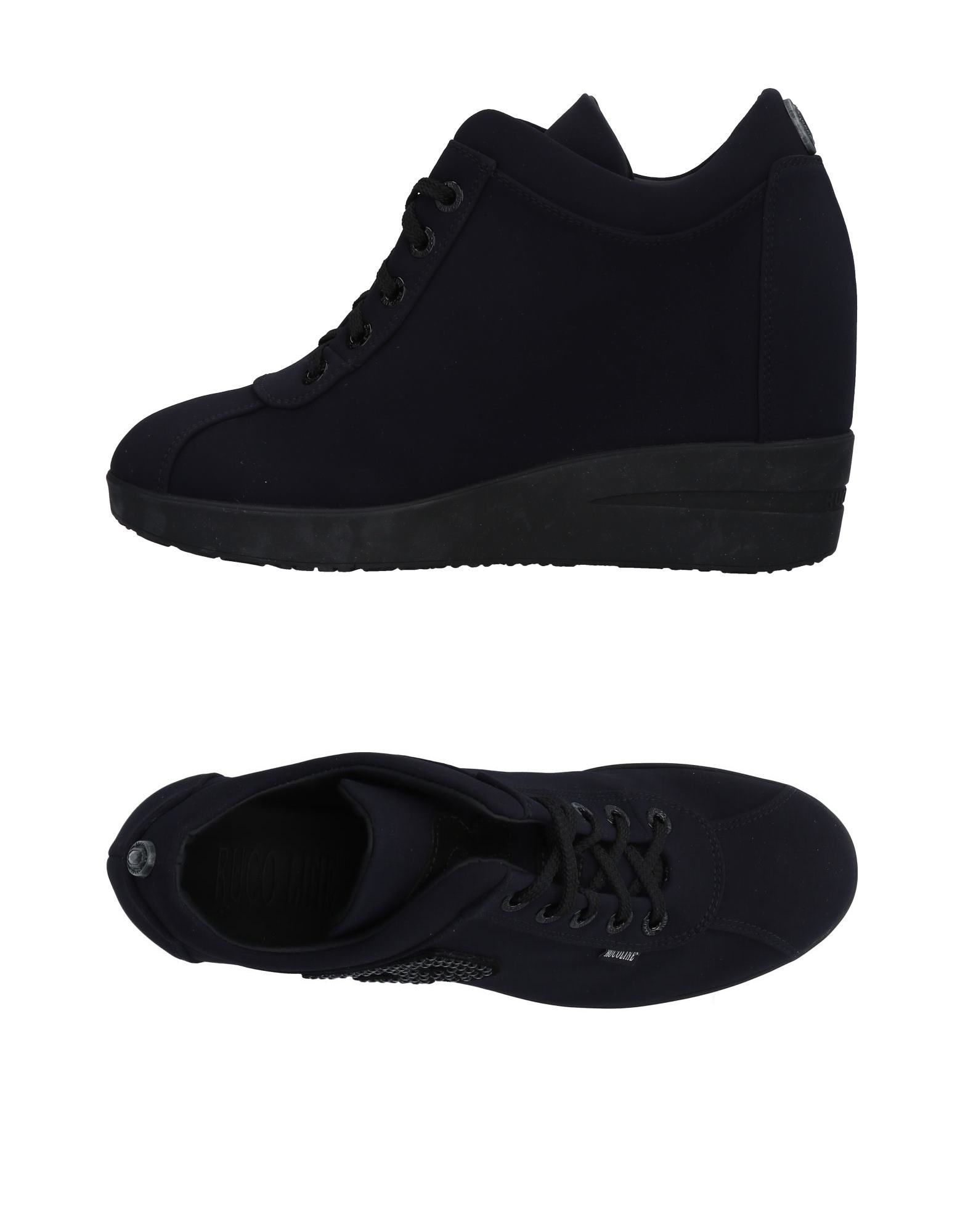 Baskets Ruco Line Femme - Baskets Ruco Line Noir Chaussures casual sauvages