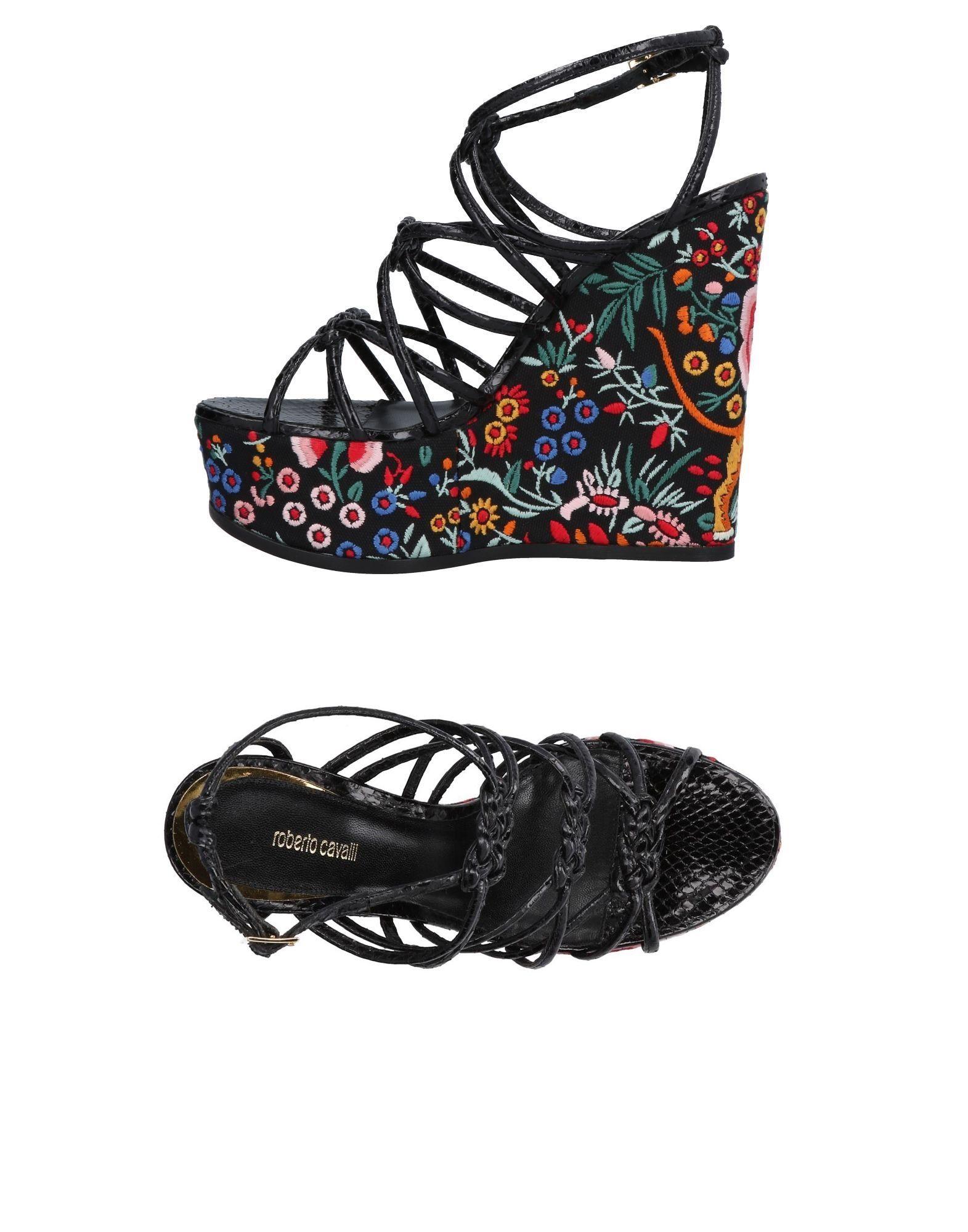 Roberto Cavalli Sandalen aussehende Damen  11478501KSGünstige gut aussehende Sandalen Schuhe 5a2e74