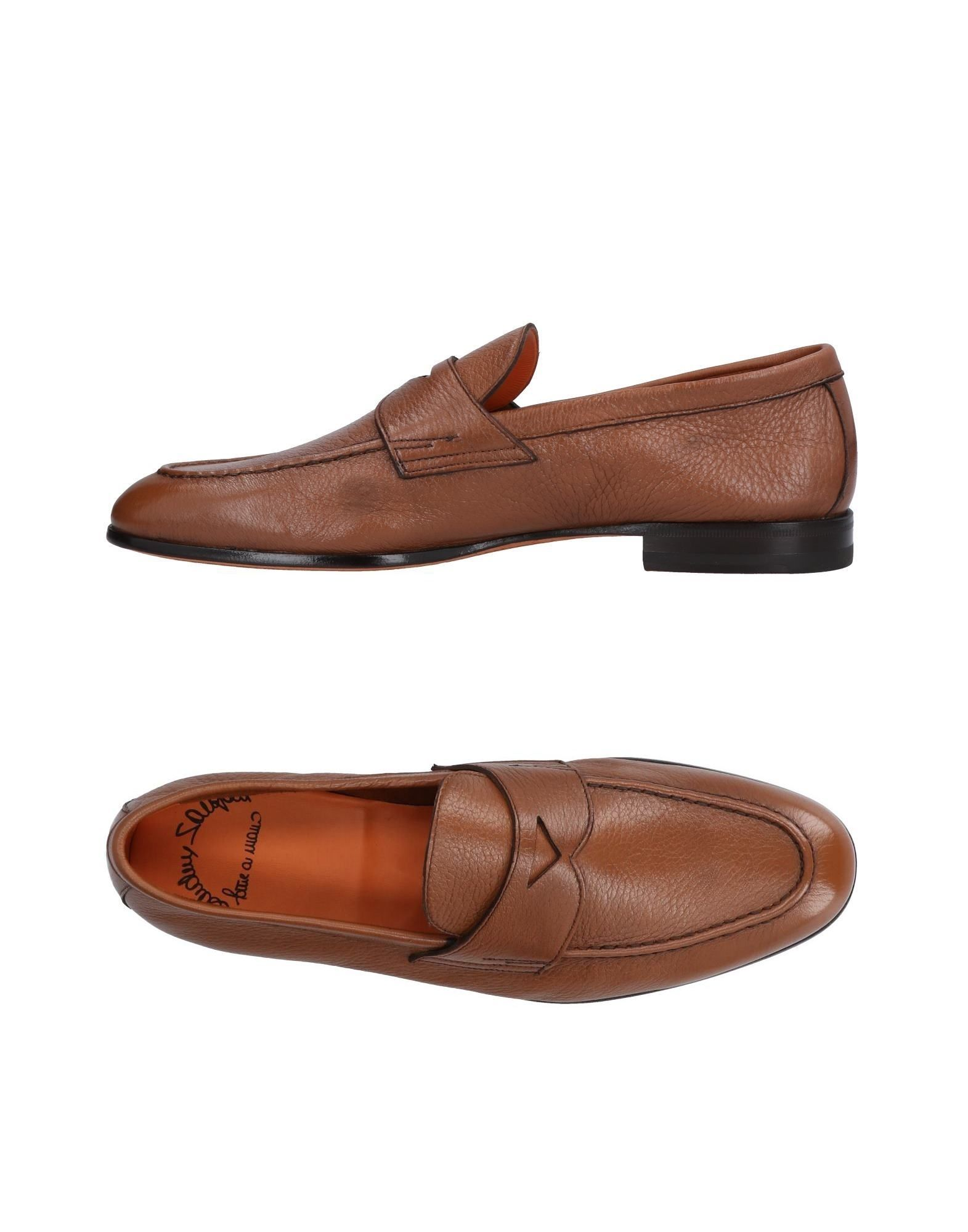 Haltbare Mode billige Schuhe Santoni Mokassins Herren  11478523QA Heiße Schuhe