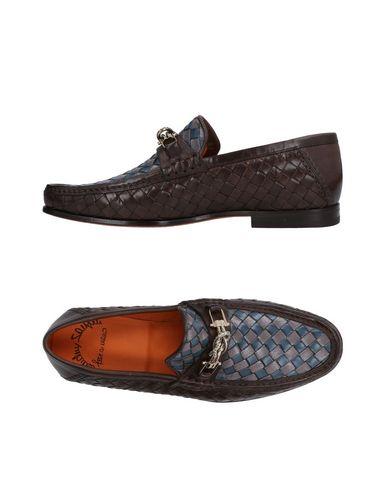 Zapatos con descuento Mocasín Santoni Hombre - Mocasines Santoni - 11478526IP Café