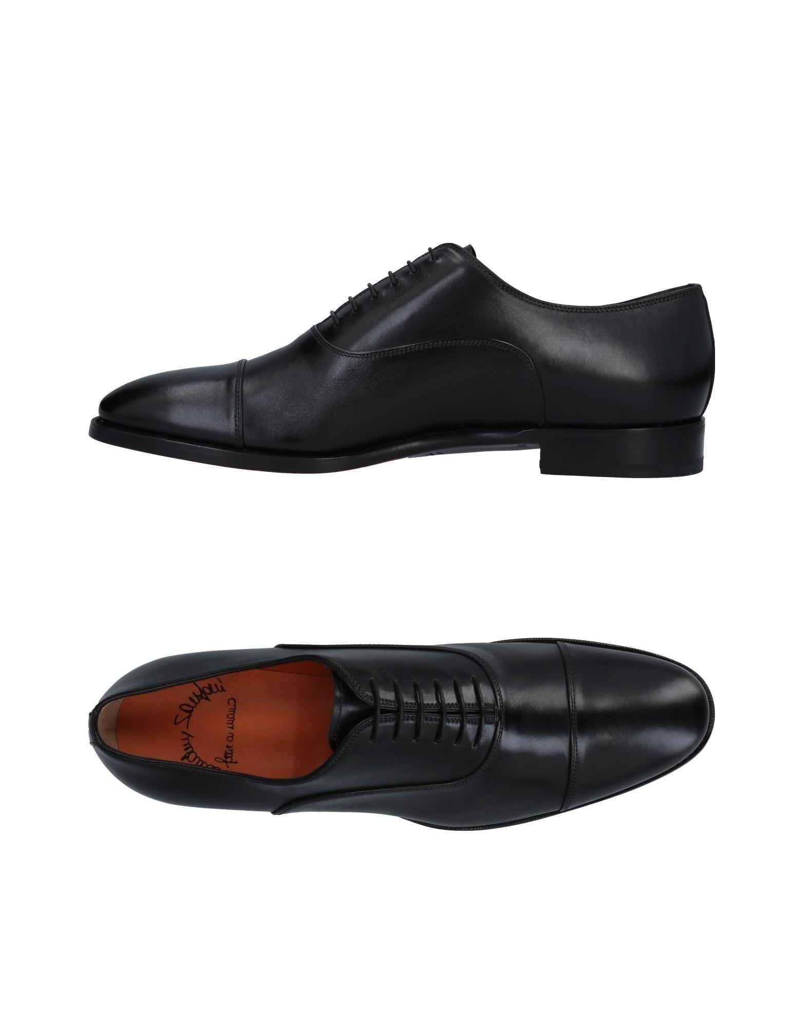 Haltbare Mode billige Schuhe Santoni Schnürschuhe Herren  11478548BJ Heiße Schuhe