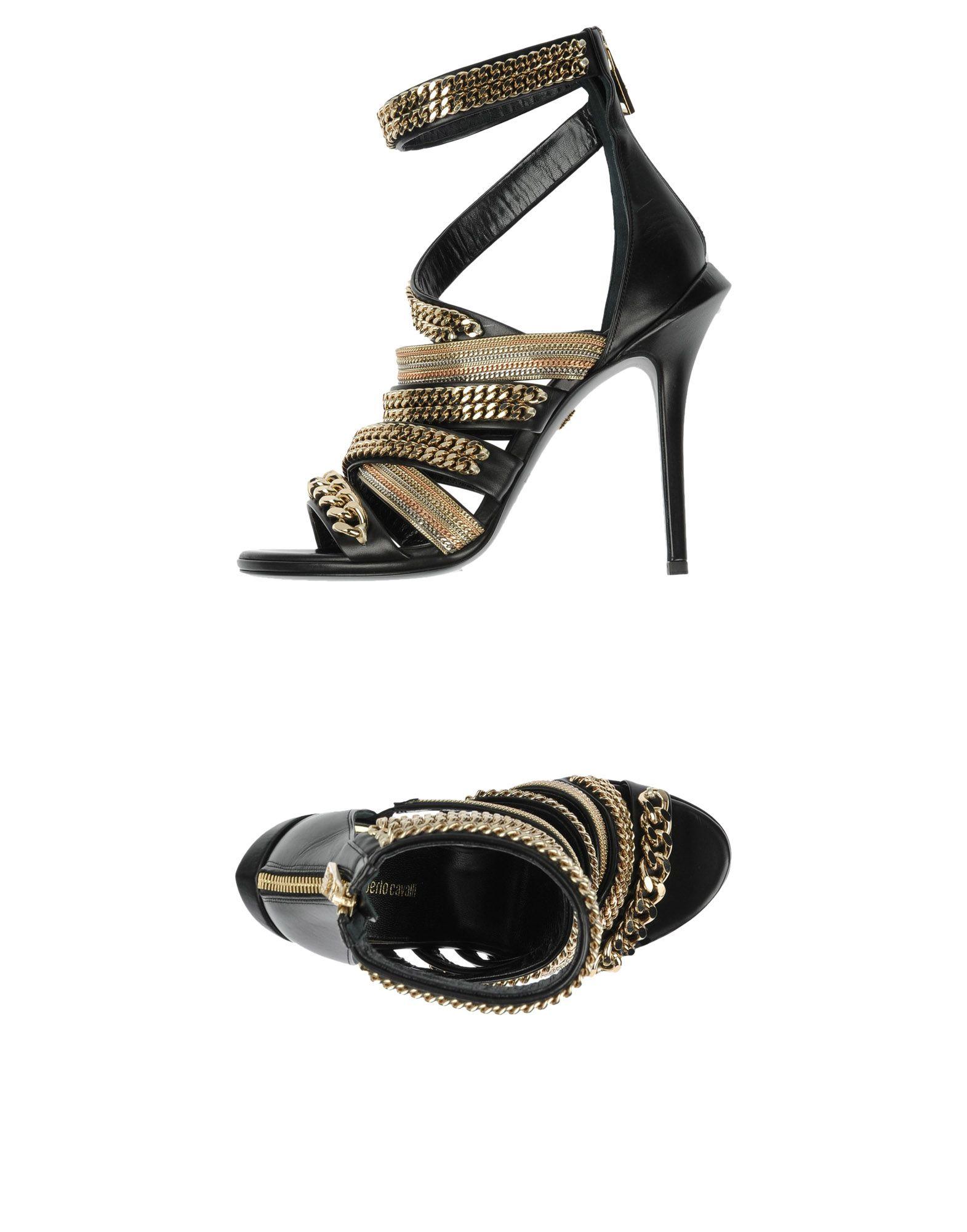 Roberto Cavalli gut Sandalen Damen  11478550CSGünstige gut Cavalli aussehende Schuhe 8c395f