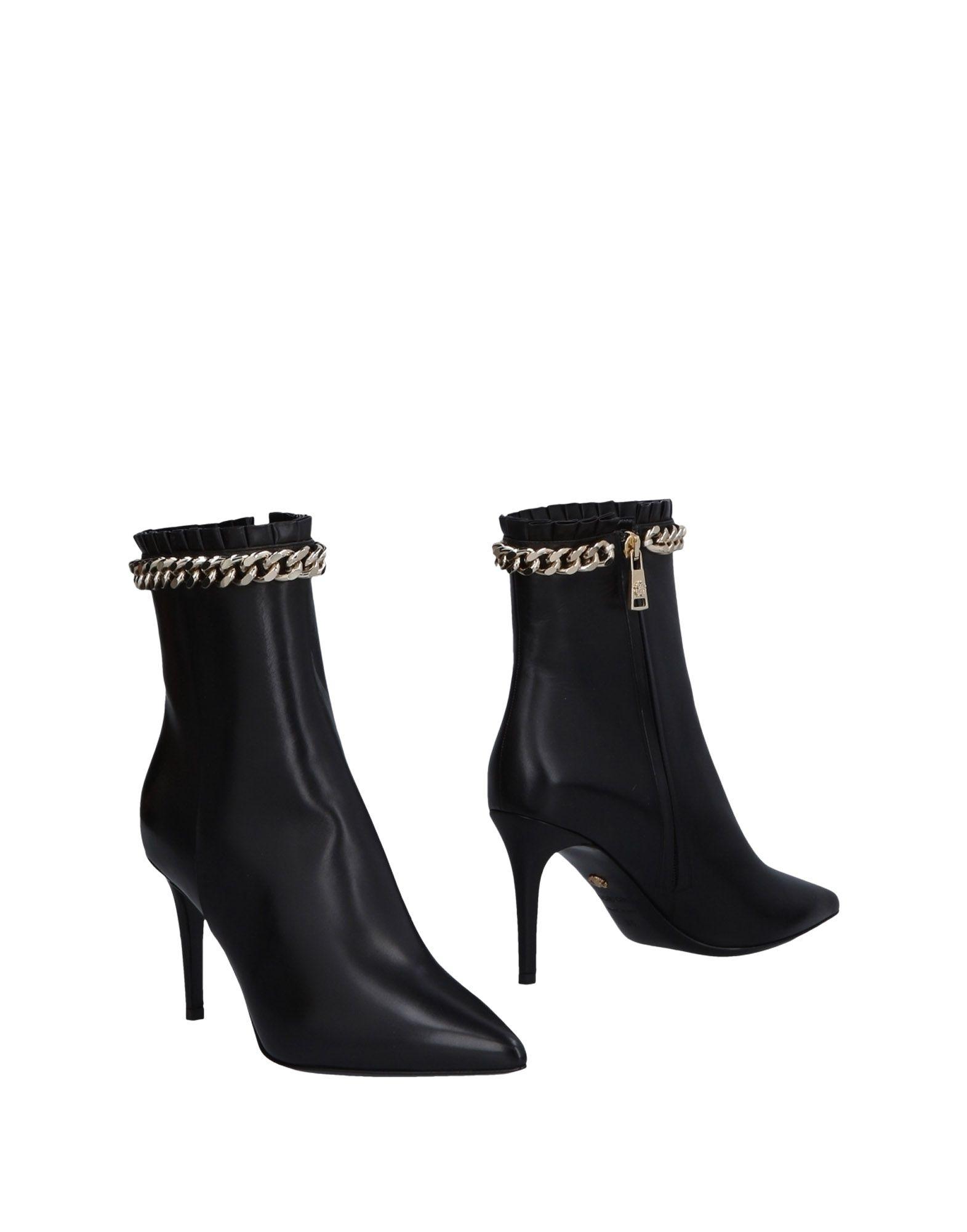 Roberto Cavalli Stiefelette Stiefelette Cavalli Damen  11478555NEGünstige gut aussehende Schuhe 8cf16c