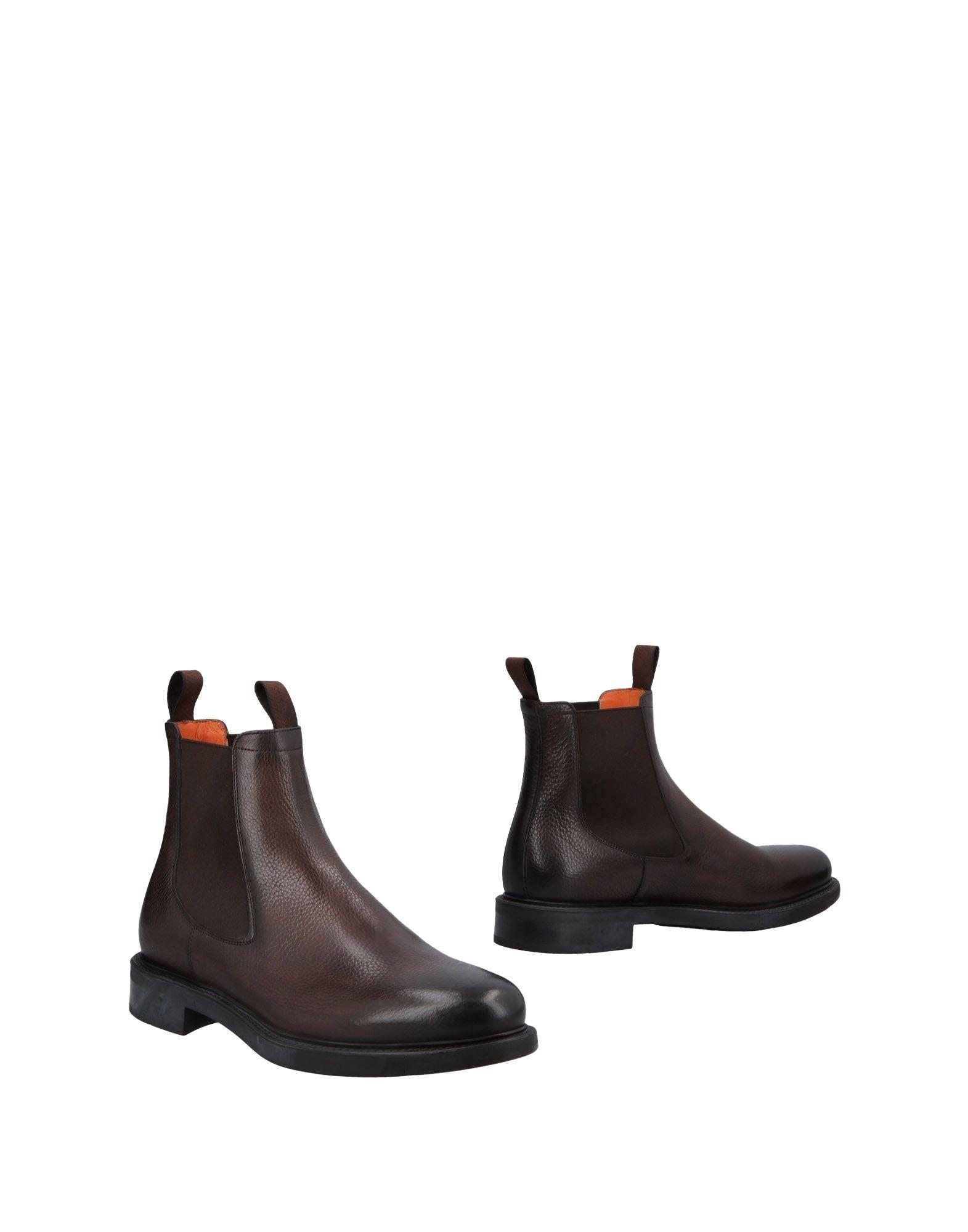 Haltbare Mode billige Schuhe Santoni Stiefelette Herren  11478570HX Heiße Schuhe