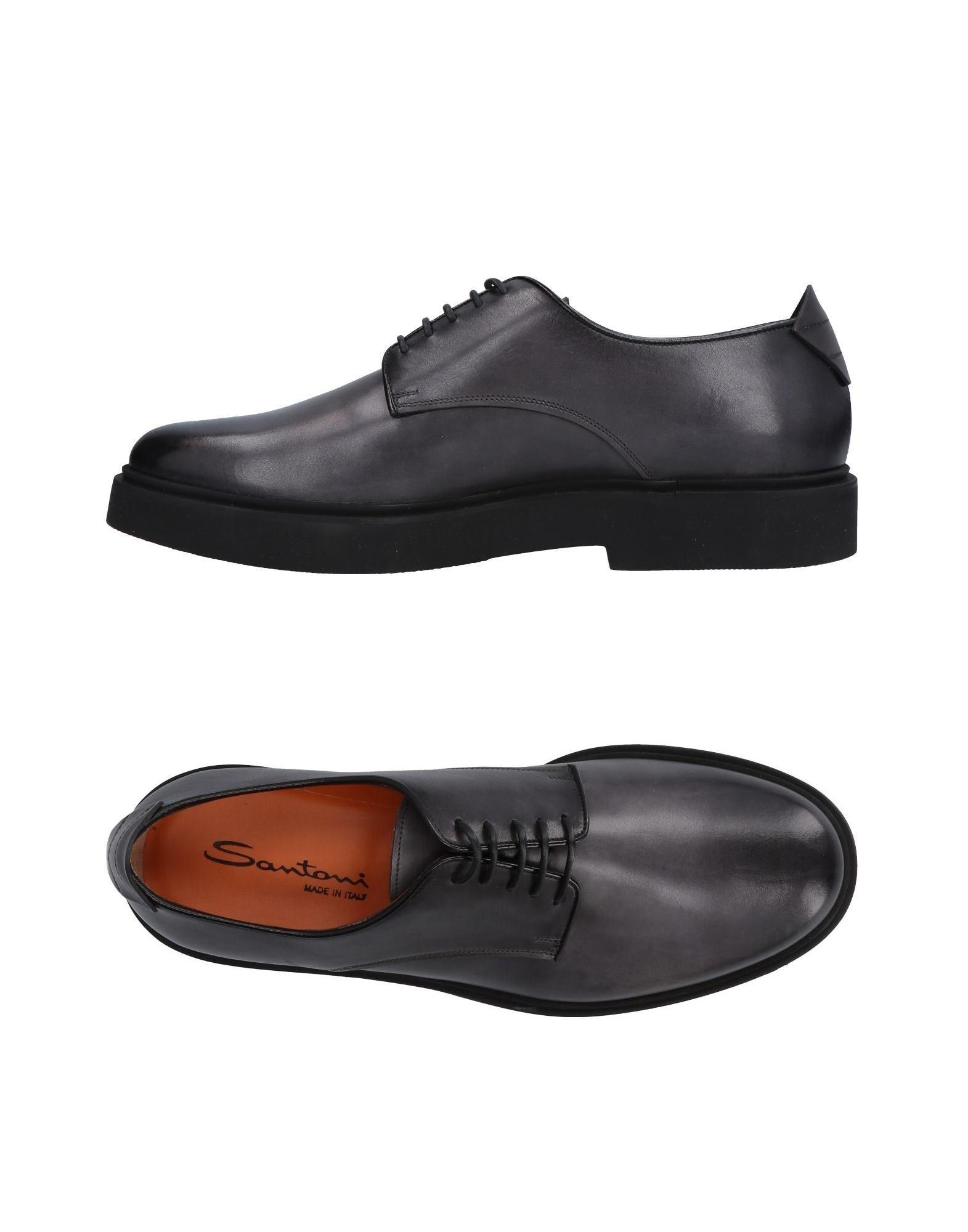 Günstige und modische Schuhe Santoni Schnürschuhe Herren  11478577VX