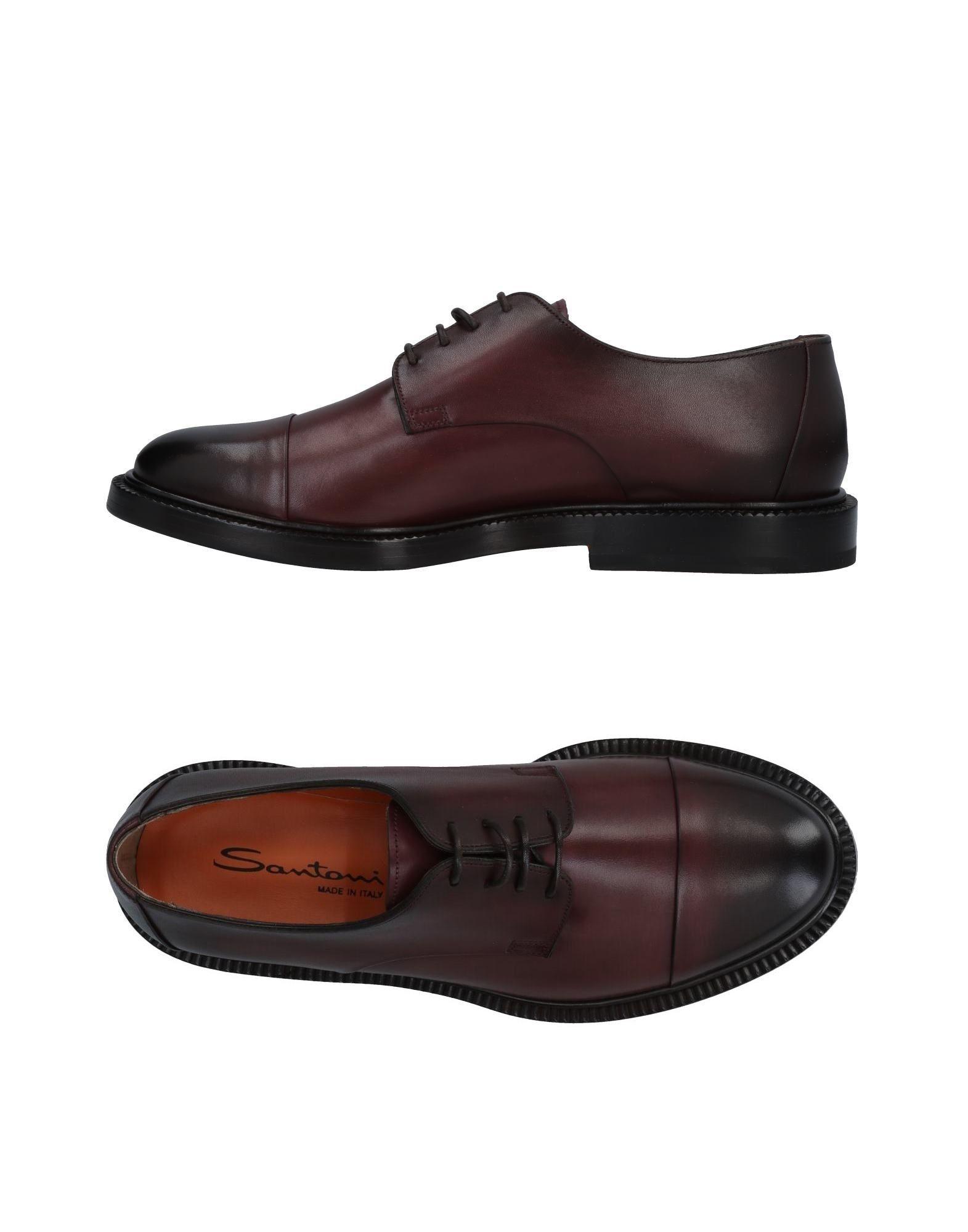 Günstige und modische Schuhe Santoni Schnürschuhe Herren  11478579PC