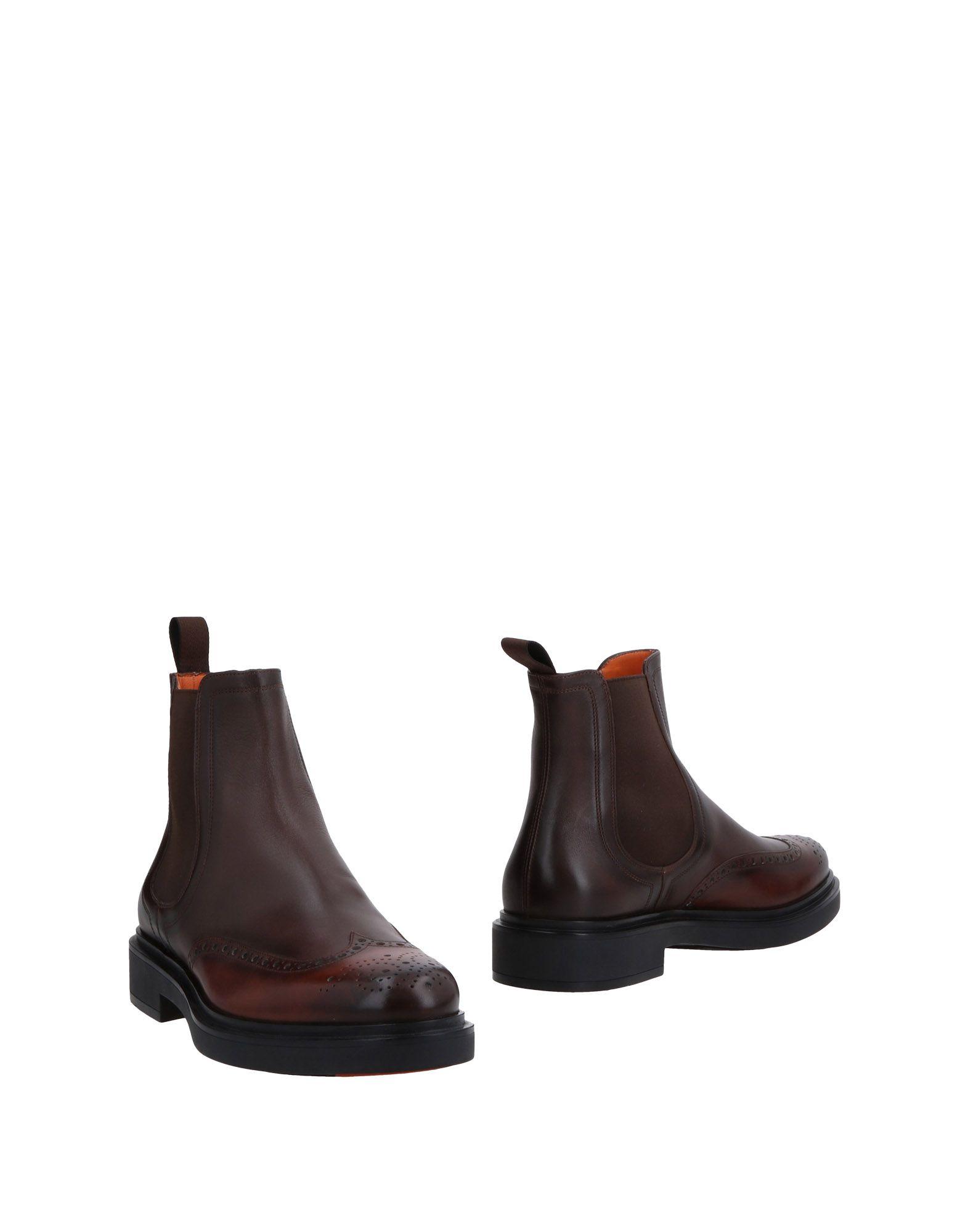 Santoni Stiefelette Herren  11478596PA Gute Qualität beliebte Schuhe