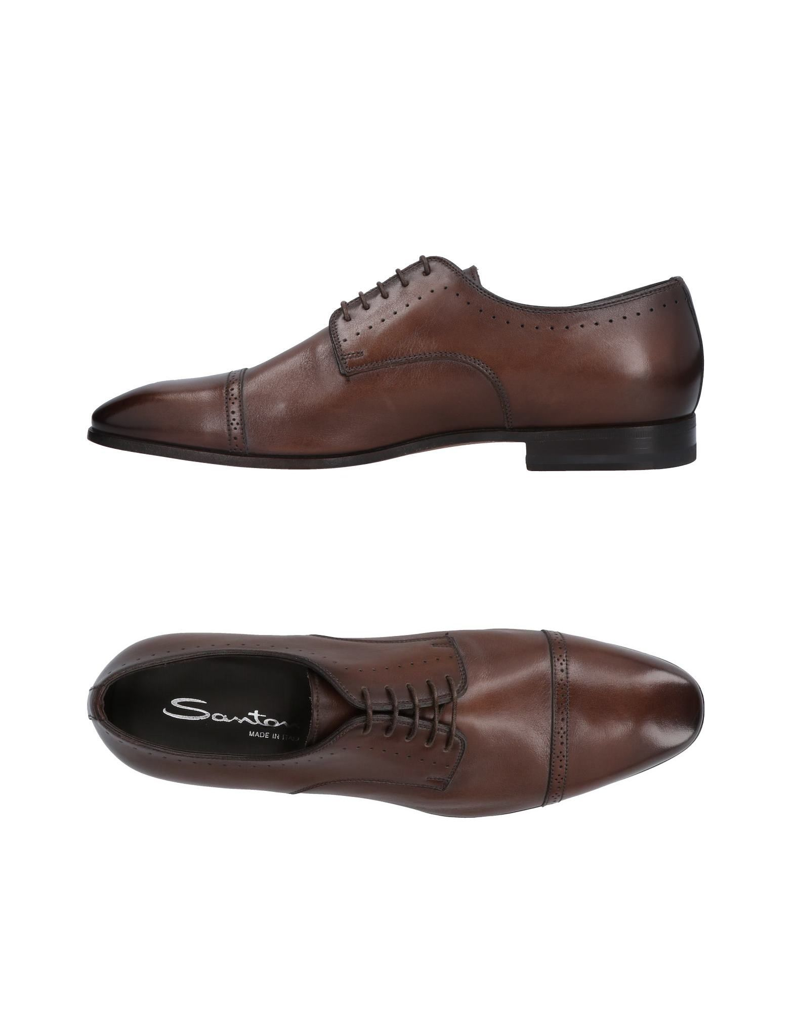 Haltbare Mode billige Schuhe Santoni Schnürschuhe Herren  11478604MO Heiße Schuhe