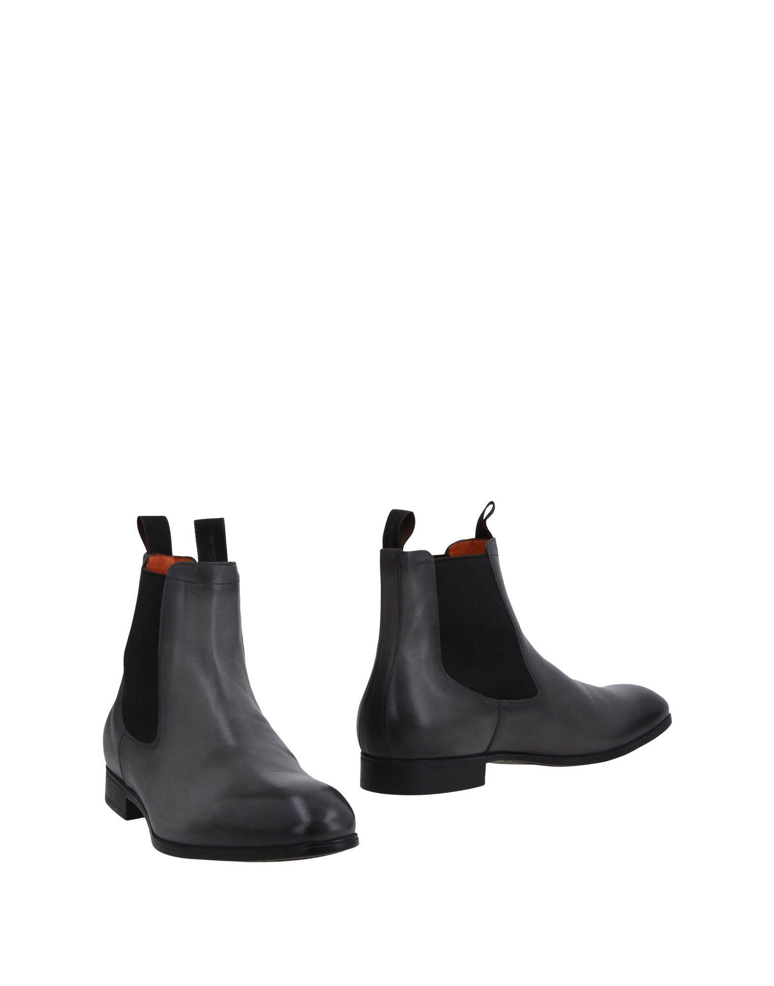 Santoni Stiefelette Herren  11478627LU Gute Qualität beliebte Schuhe